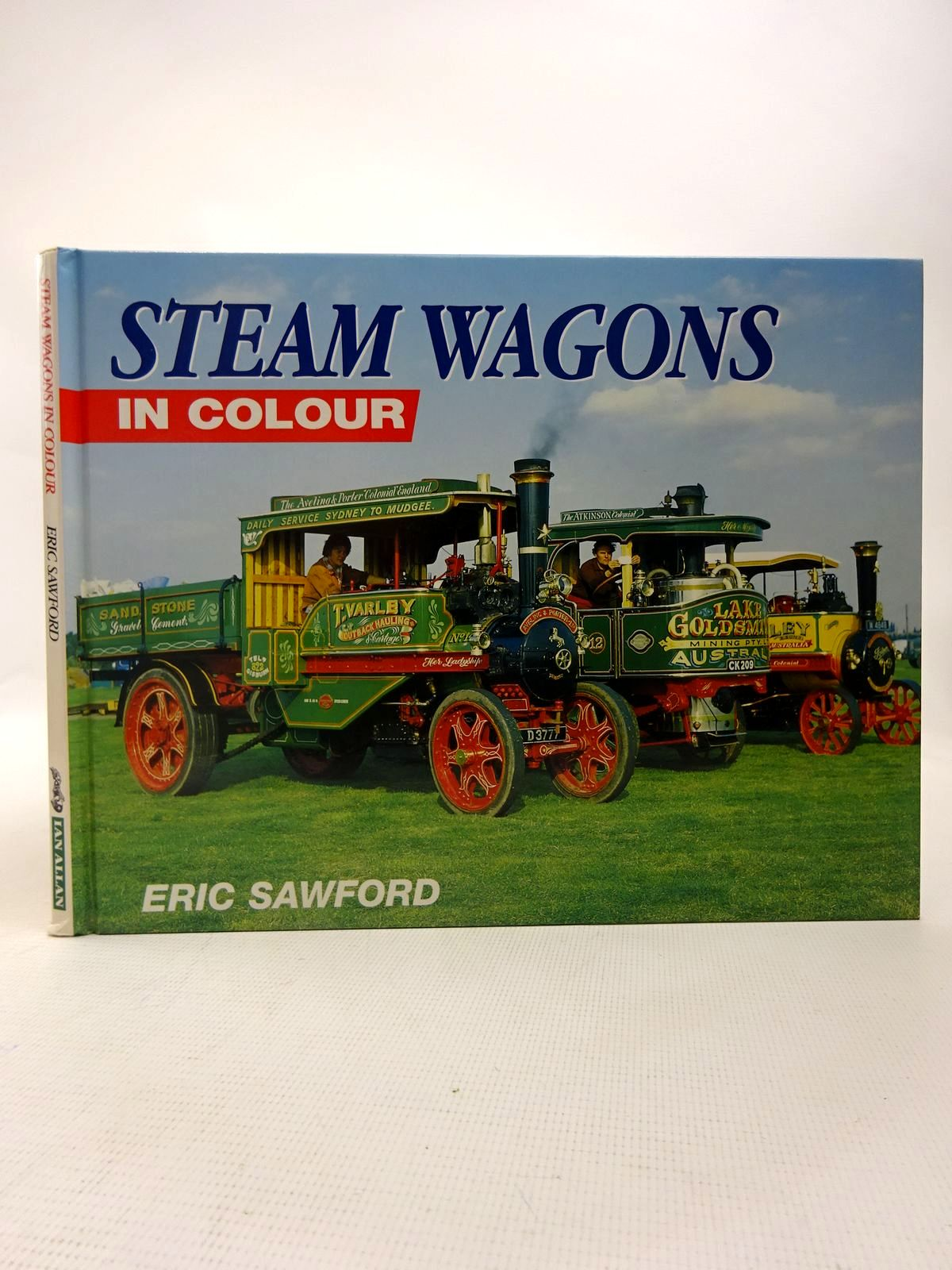 Photo of STEAM WAGONS IN COLOUR written by Sawford, Eric published by Ian Allan (STOCK CODE: 1816642)  for sale by Stella & Rose's Books