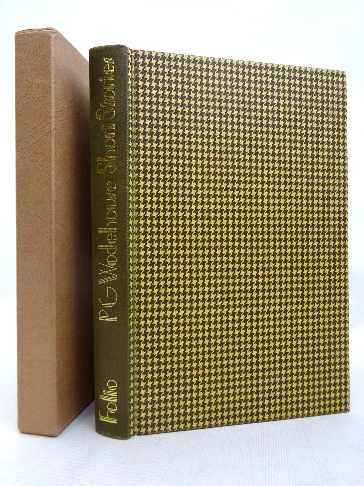Photo of P.G.WODEHOUSE SHORT STORIES written by Wodehouse, P.G. illustrated by Adamson, George published by Folio Society (STOCK CODE: 1816682)  for sale by Stella & Rose's Books