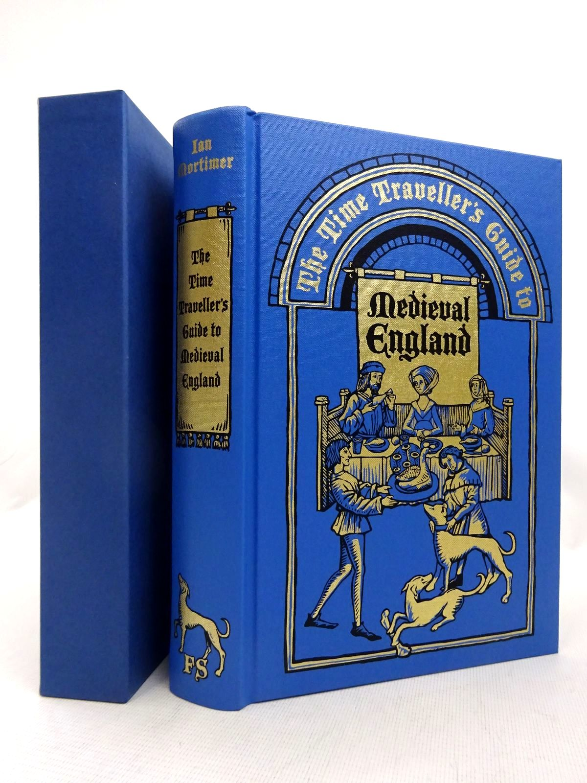 Photo of THE TIME TRAVELLER'S GUIDE TO MEDIEVAL ENGLAND written by Mortimer, Ian illustrated by Venables, Robert published by Folio Society (STOCK CODE: 1816689)  for sale by Stella & Rose's Books