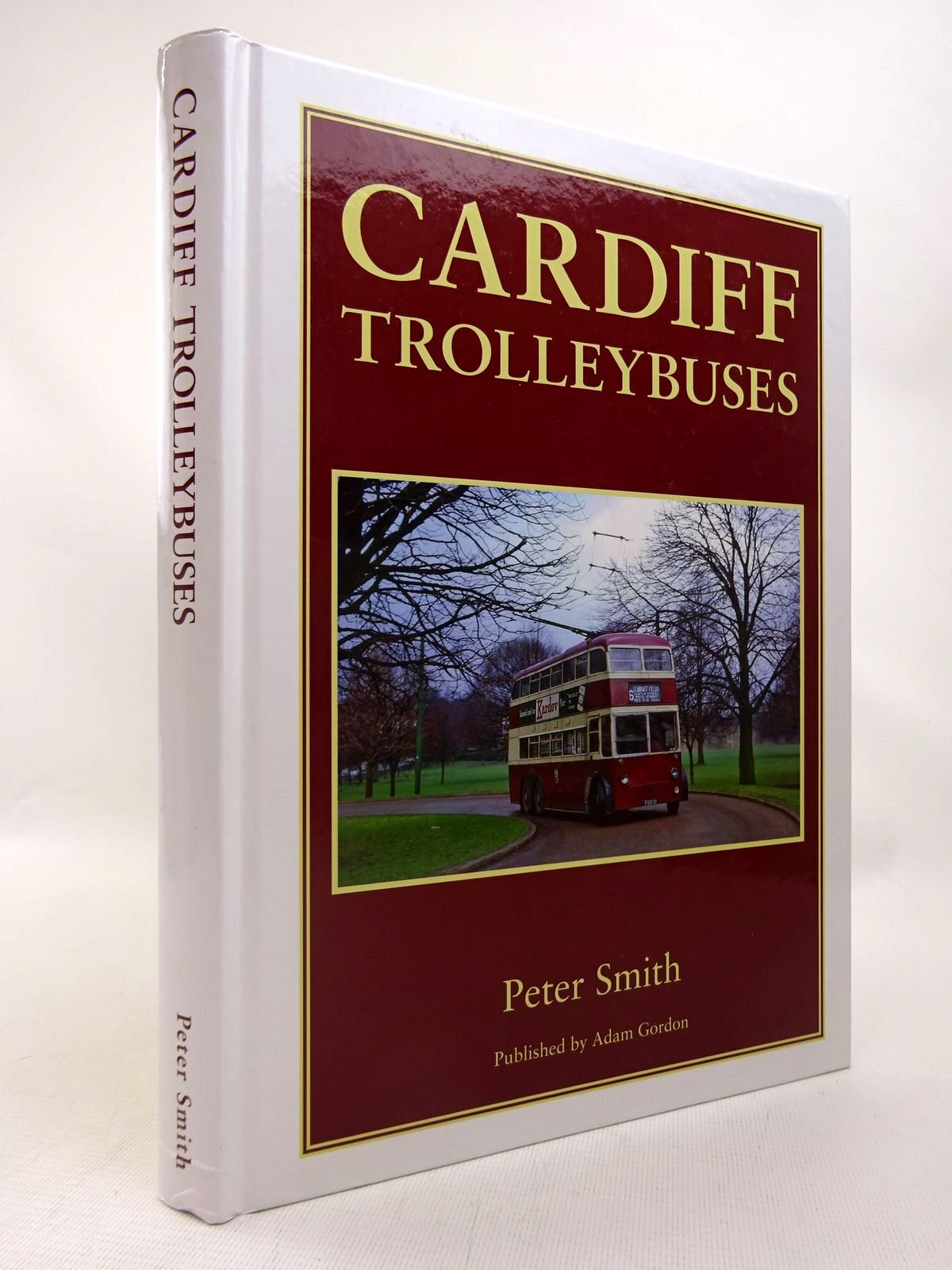 Photo of CARDIFF TROLLEYBUSES written by Smith, Peter published by Adam Gordon (STOCK CODE: 1816695)  for sale by Stella & Rose's Books