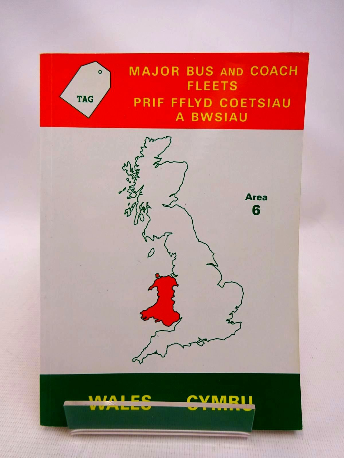 Photo of MAJOR BUS AND COACH FLEETS AREA 6: WALES written by Goddard, A.N. published by Tag Publications (STOCK CODE: 1816720)  for sale by Stella & Rose's Books