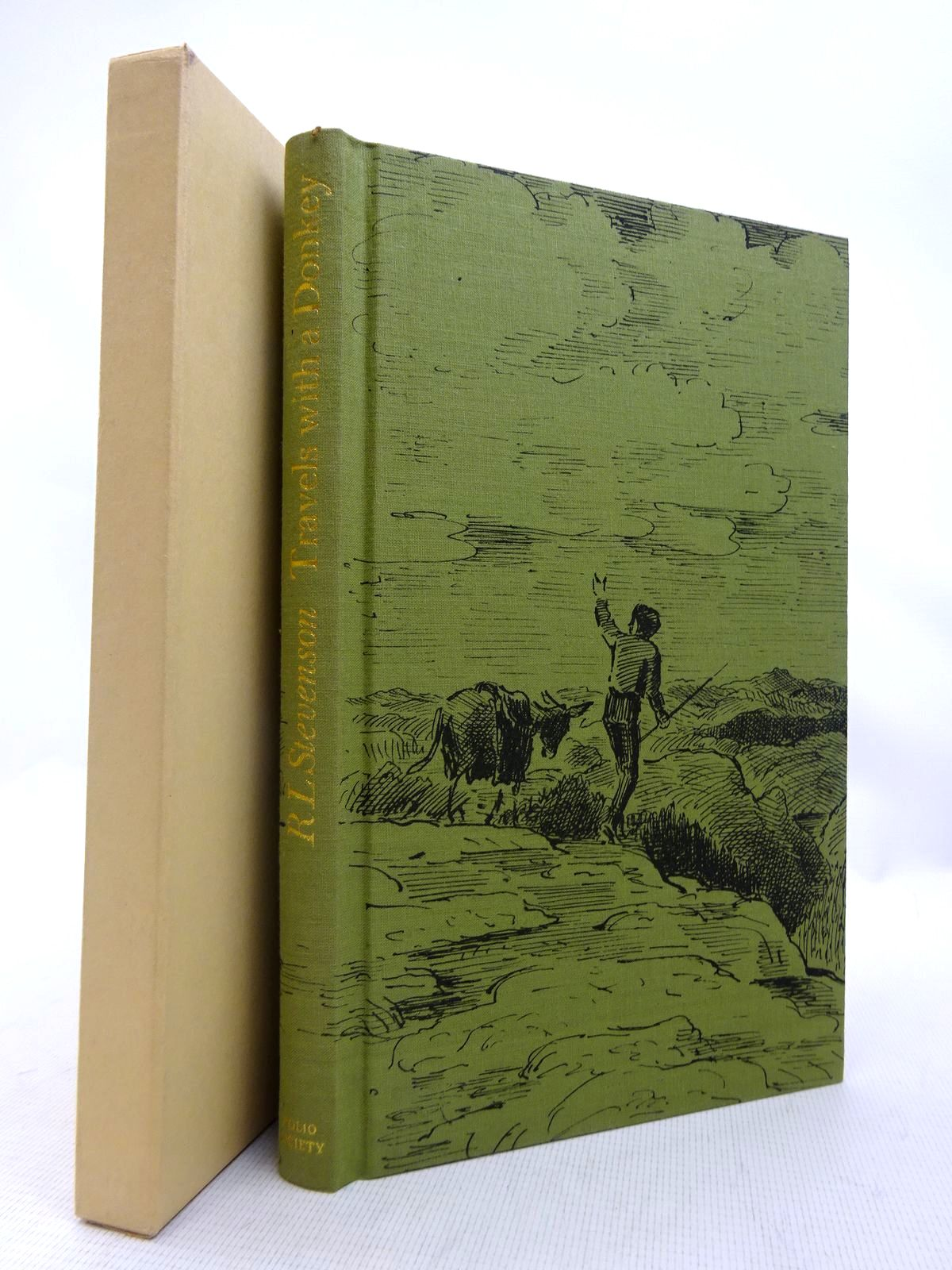 Photo of TRAVELS WITH A DONKEY IN THE CEVENNES written by Stevenson, Robert Louis illustrated by Ardizzone, Edward published by Folio Society (STOCK CODE: 1816748)  for sale by Stella & Rose's Books