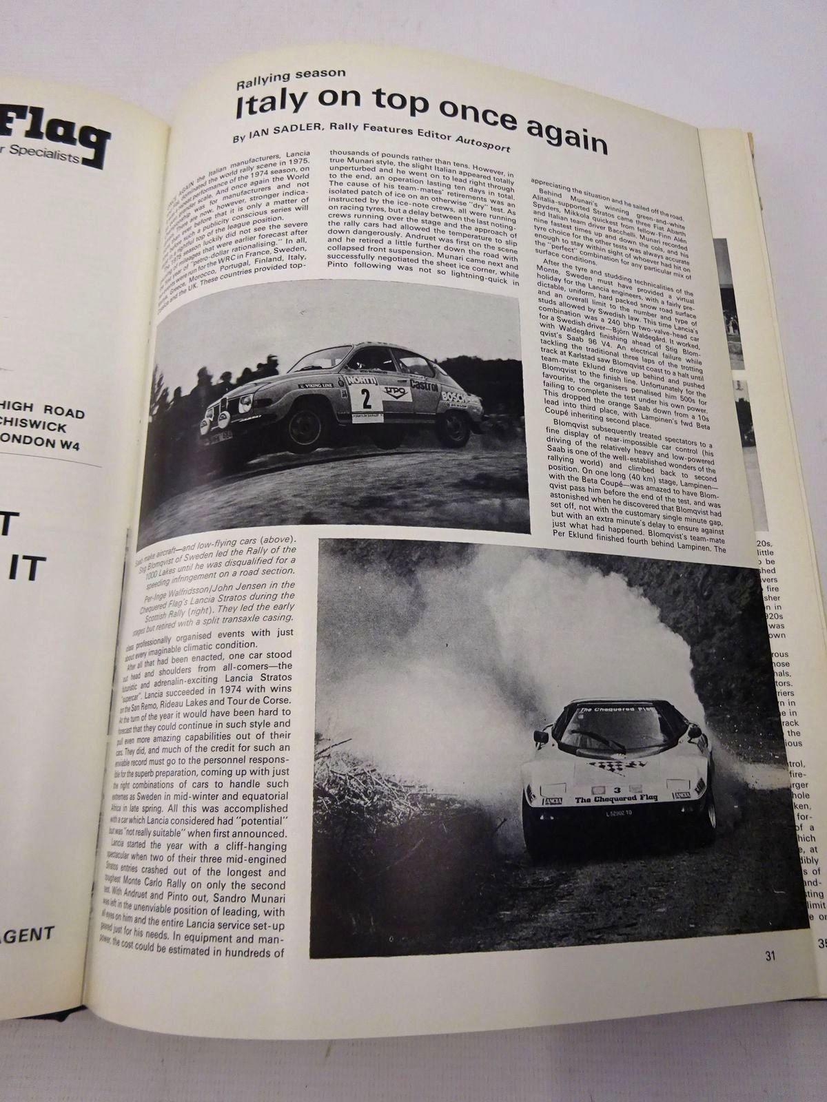 Photo of AUTOCOURSE 1975-76 written by Kettlewell, Mike published by Hazleton Securities (STOCK CODE: 1816766)  for sale by Stella & Rose's Books