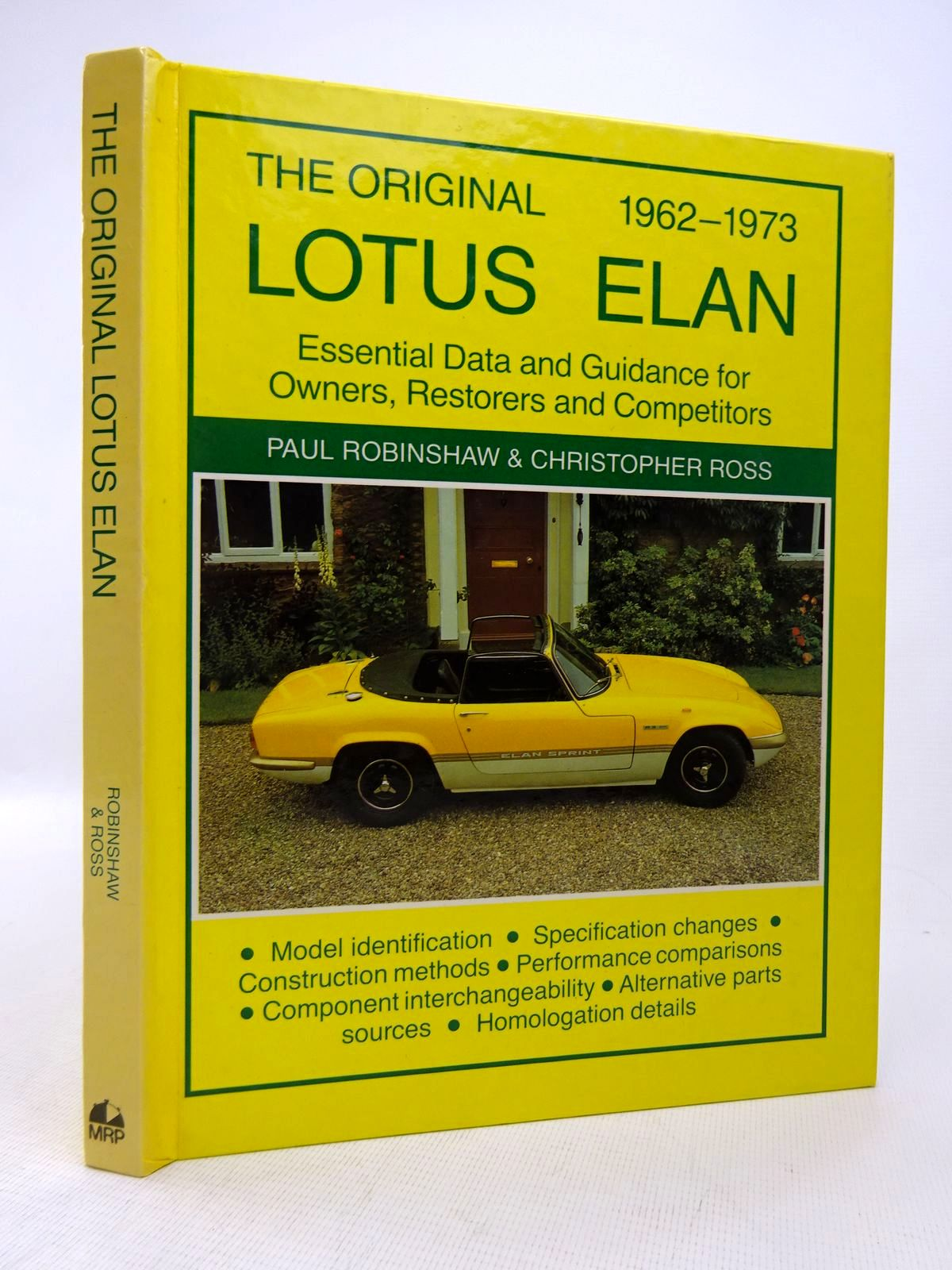 Photo of THE ORIGINAL LOTUS ELAN written by Robinshaw, Paul<br />Ross, Christopher published by MRP (STOCK CODE: 1816789)  for sale by Stella & Rose's Books
