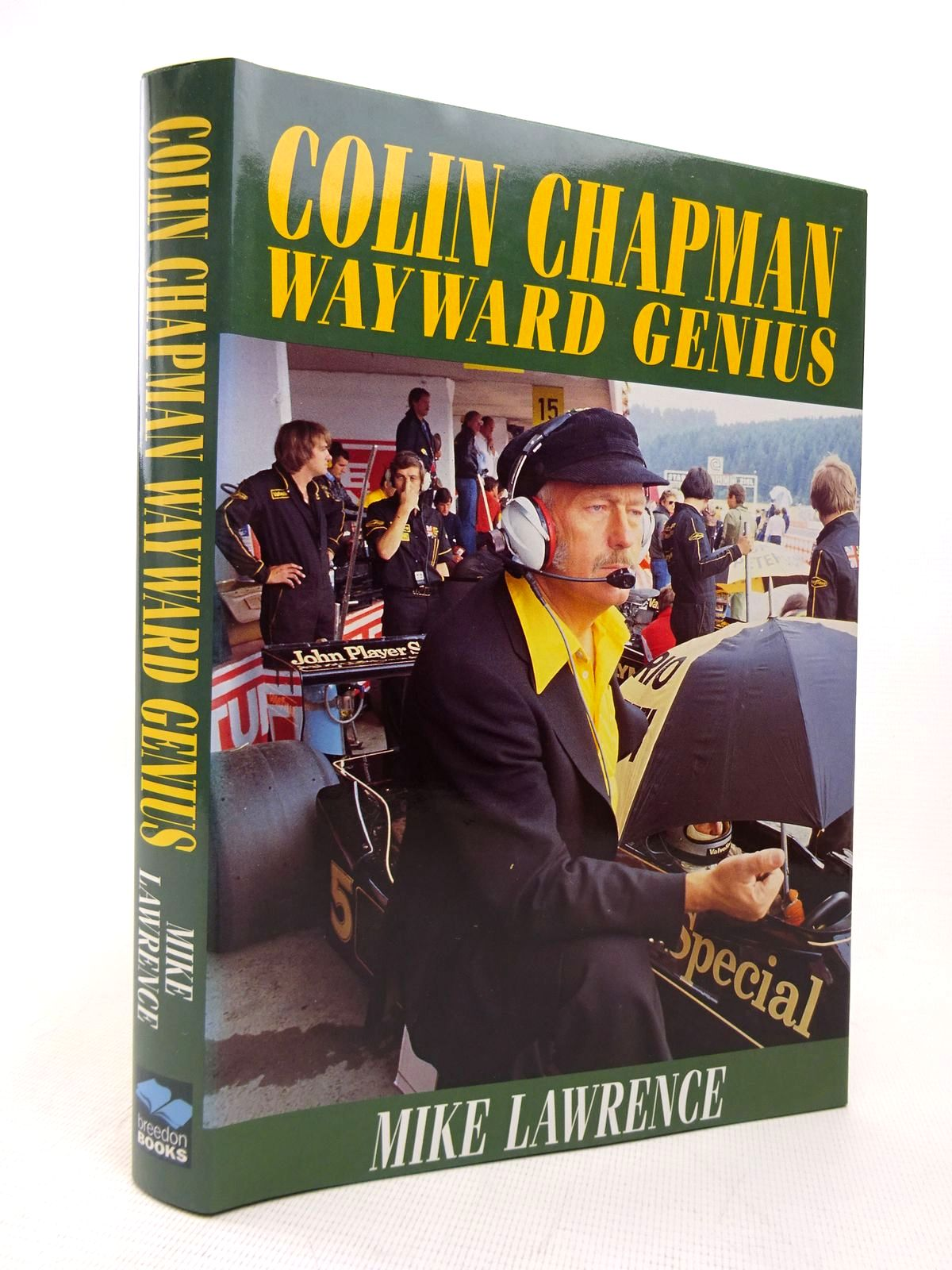 Photo of COLIN CHAPMAN WAYWARD GENIUS written by Lawrence, Mike published by Breedon Books Publishing Co. (STOCK CODE: 1816793)  for sale by Stella & Rose's Books