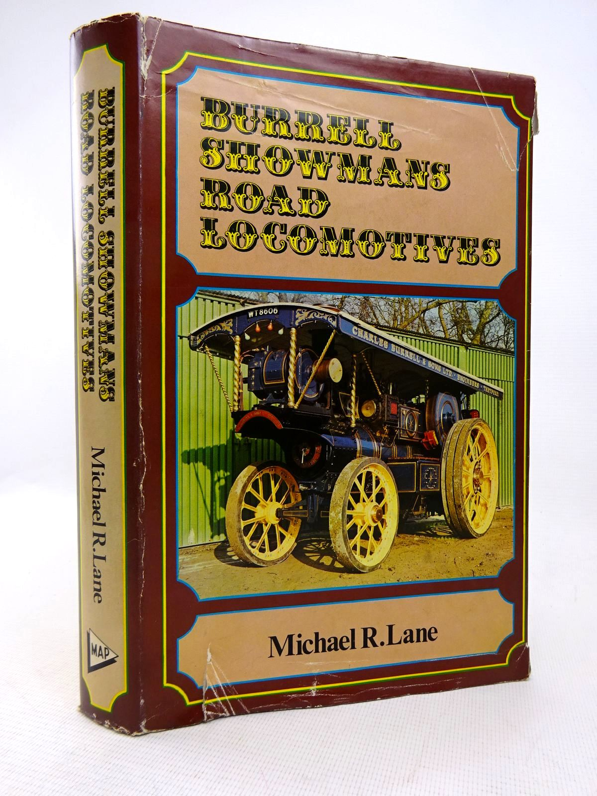 Photo of BURRELL SHOWMAN'S ROAD LOCOMOTIVES written by Lane, Michael R. published by Model & Allied Publications (STOCK CODE: 1816804)  for sale by Stella & Rose's Books