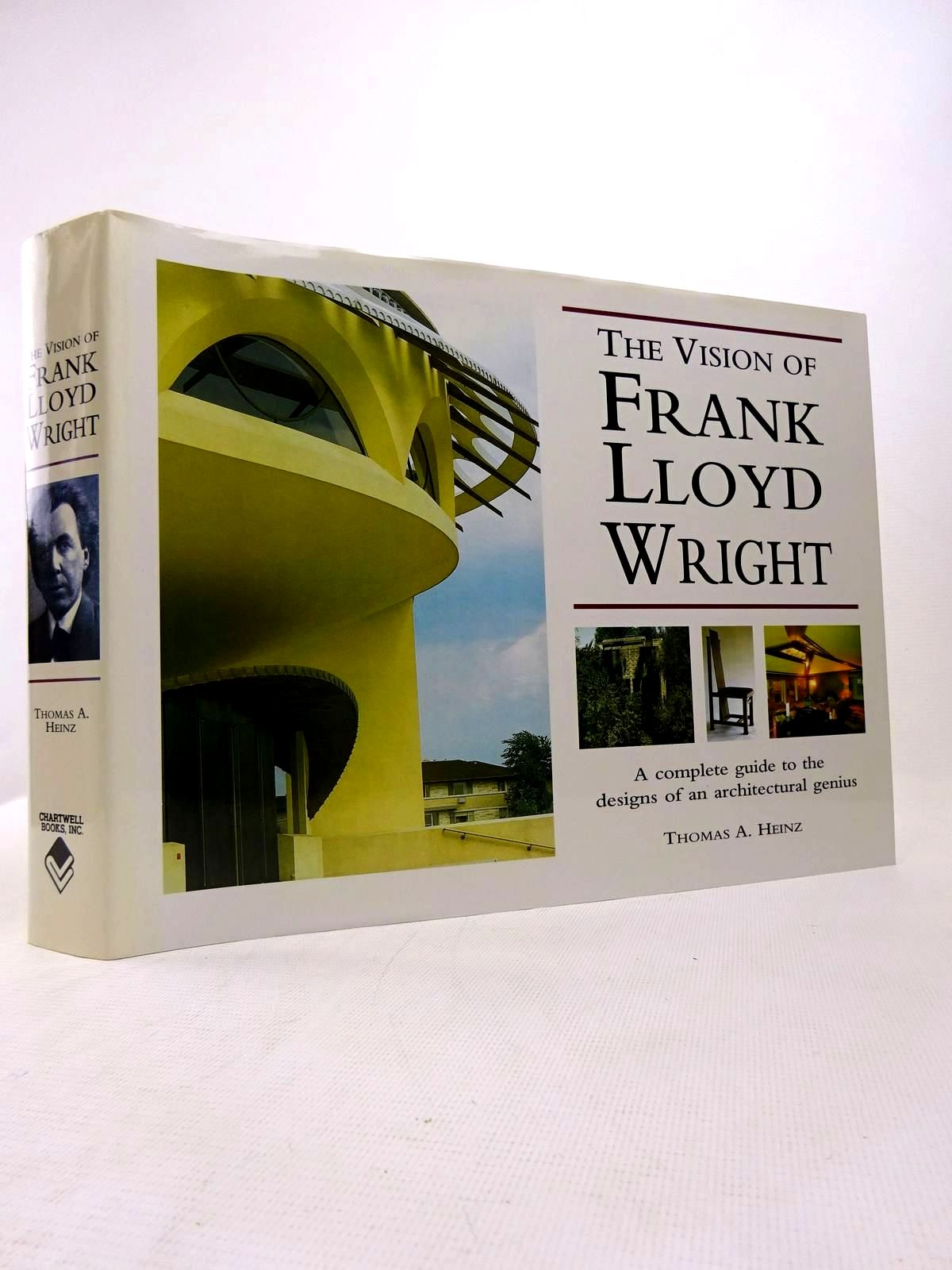 Photo of THE VISION OF FRANK LLOYD WRIGHT written by Heinz, Thomas A. published by Chartwell Books Inc. (STOCK CODE: 1816818)  for sale by Stella & Rose's Books
