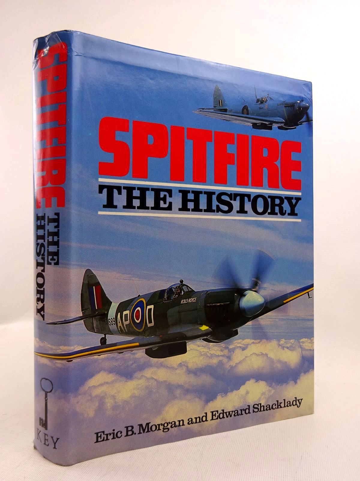 Photo of SPITFIRE THE HISTORY written by Morgan, Eric B.<br />Shacklady, Edward published by Key Publishing (STOCK CODE: 1816875)  for sale by Stella & Rose's Books