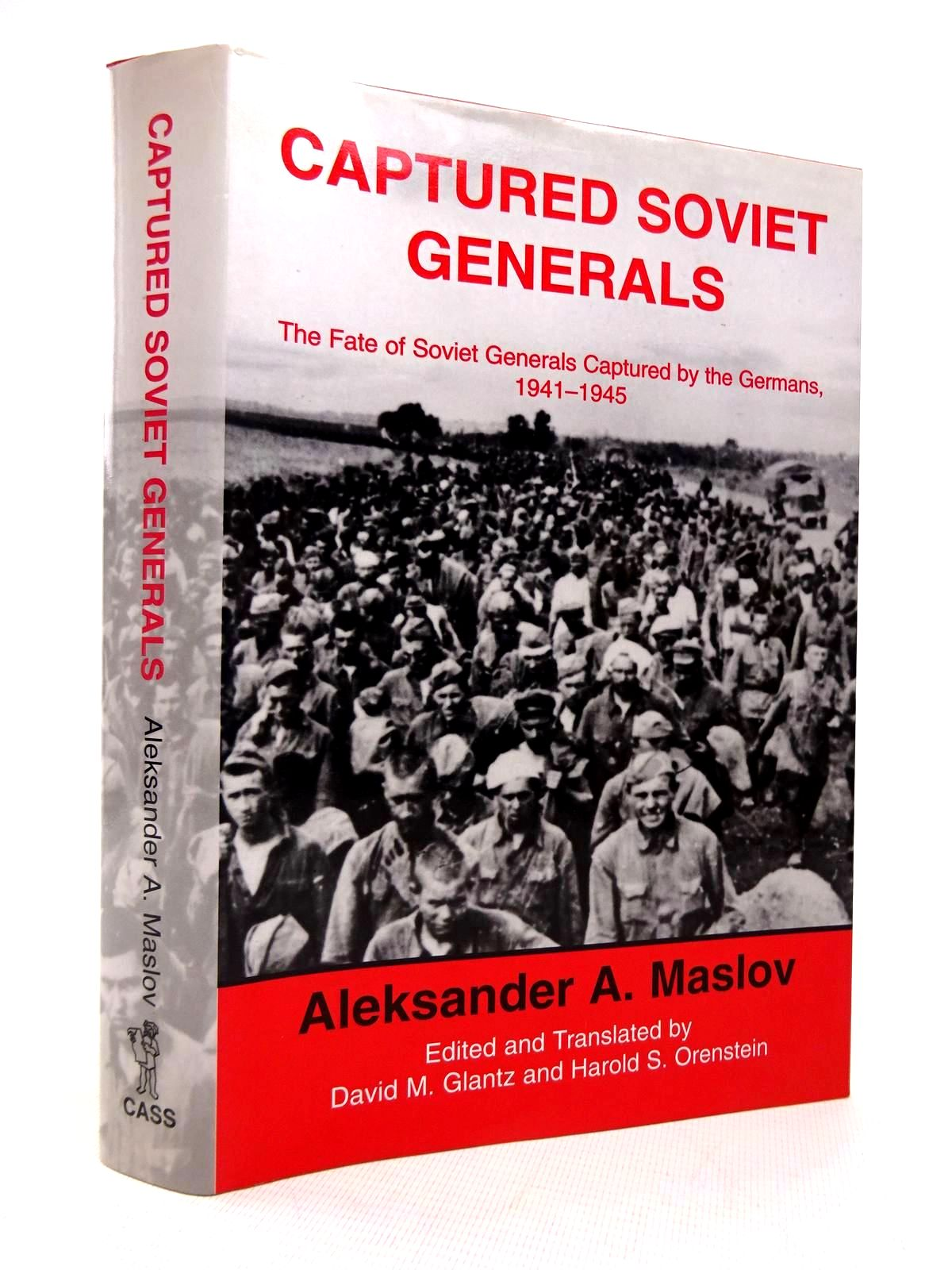 Photo of CAPTURED SOVIET GENERALS written by Maslov, Aleksander A. published by Frank Cass (STOCK CODE: 1816889)  for sale by Stella & Rose's Books