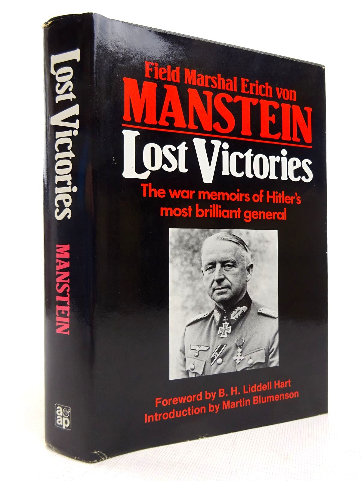 Photo of LOST VICTORIES written by Von Manstein, Erich published by Arms & Armour Press (STOCK CODE: 1816895)  for sale by Stella & Rose's Books