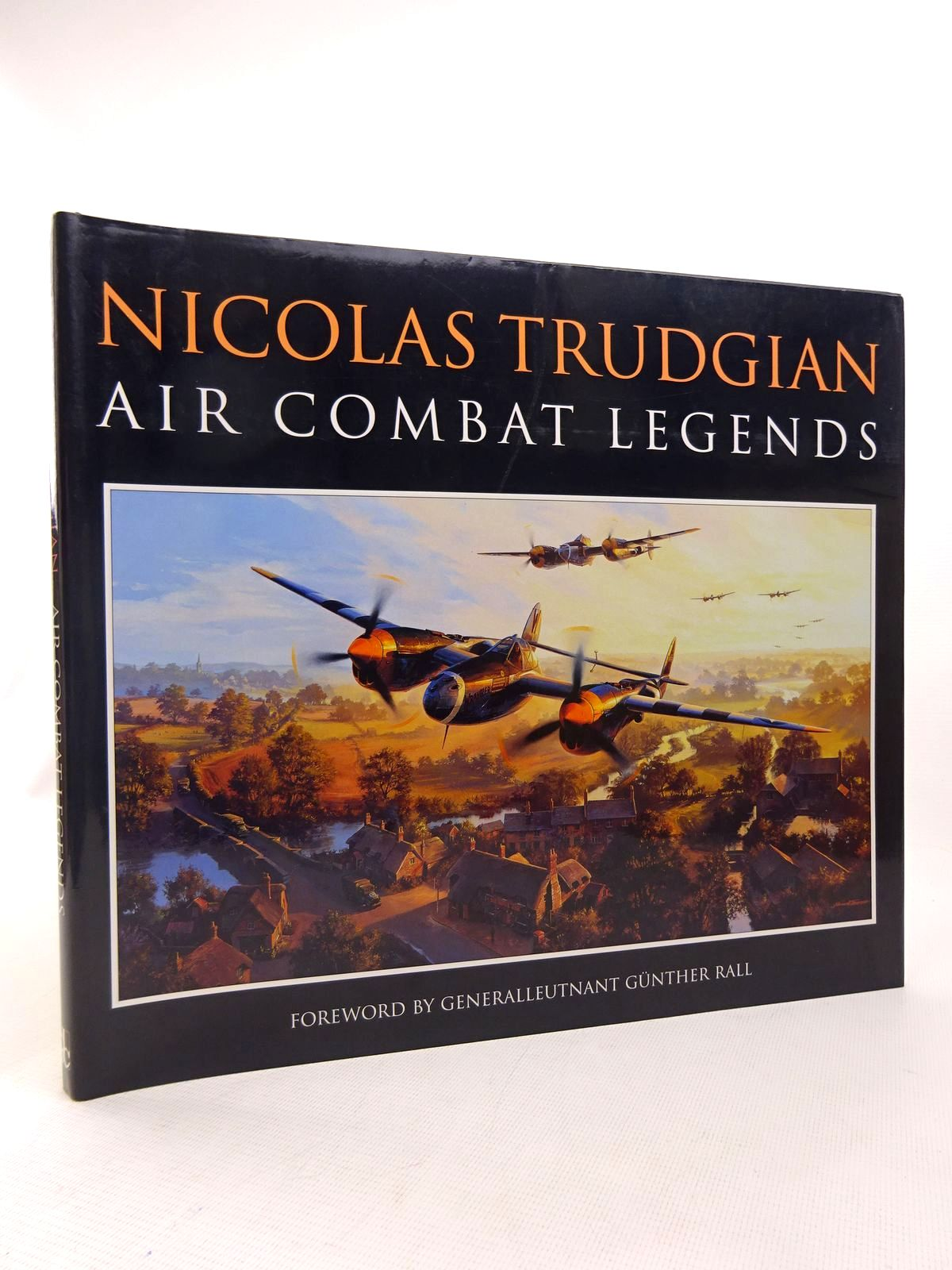 Photo of NICOLAS TRUDGIAN AIR COMBAT LEGENDS written by Trudgian, Nicolas illustrated by Trudgian, Nicolas published by David & Charles (STOCK CODE: 1816933)  for sale by Stella & Rose's Books