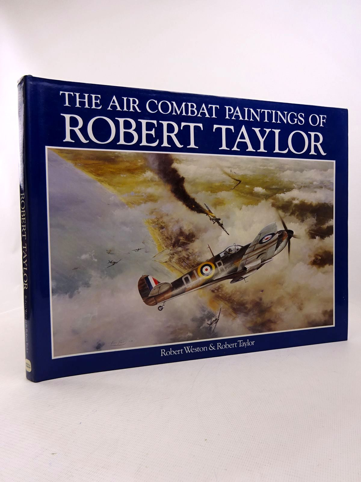 Photo of THE AIR COMBAT PAINTINGS OF ROBERT TAYLOR written by Weston, Robert<br />Taylor, Robert illustrated by Taylor, Robert published by David & Charles (STOCK CODE: 1816934)  for sale by Stella & Rose's Books