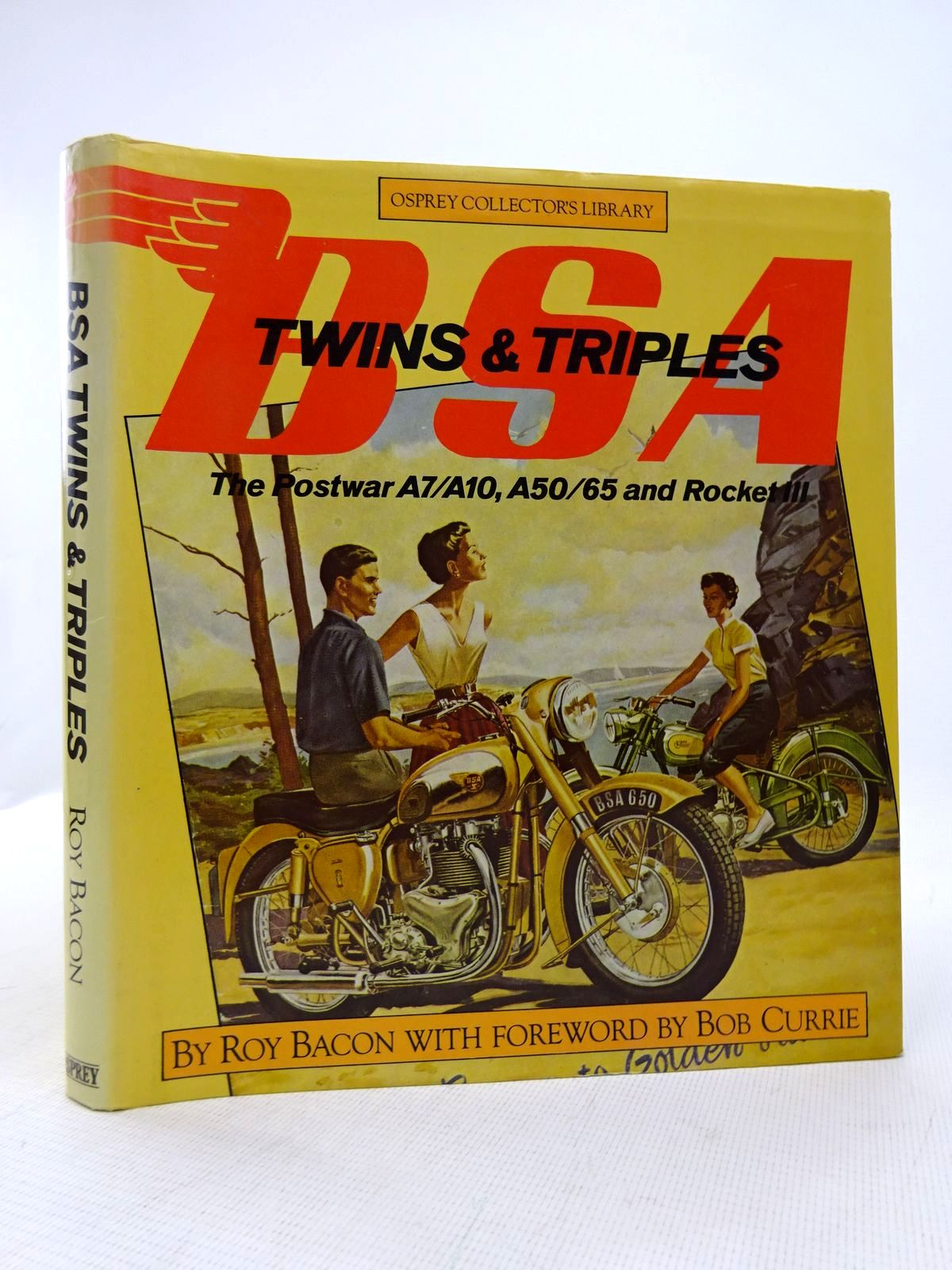Photo of BSA TWINS & TRIPLES written by Bacon, Roy published by Osprey Publishing (STOCK CODE: 1816943)  for sale by Stella & Rose's Books