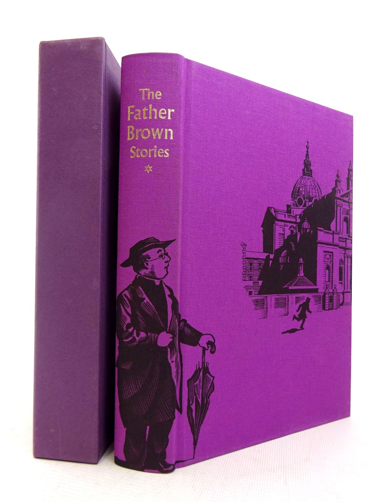 Photo of THE FATHER BROWN STORIES written by Chesterton, G.K. illustrated by Biro, Val published by Folio Society (STOCK CODE: 1816960)  for sale by Stella & Rose's Books