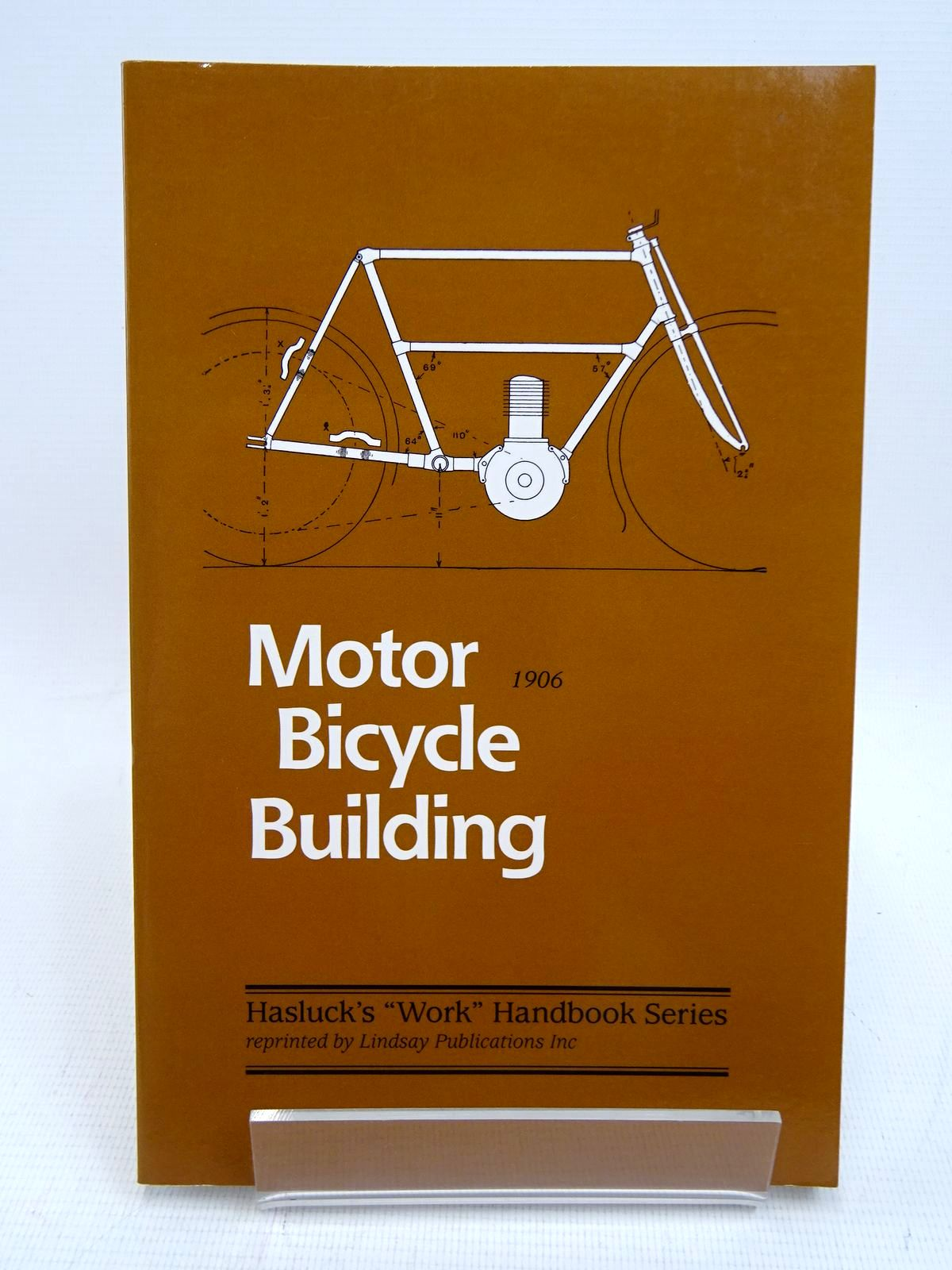 Photo of MOTOR BICYCLE BUILDING written by Hasluck, Paul N. published by Lindsay Publications (STOCK CODE: 1817053)  for sale by Stella & Rose's Books