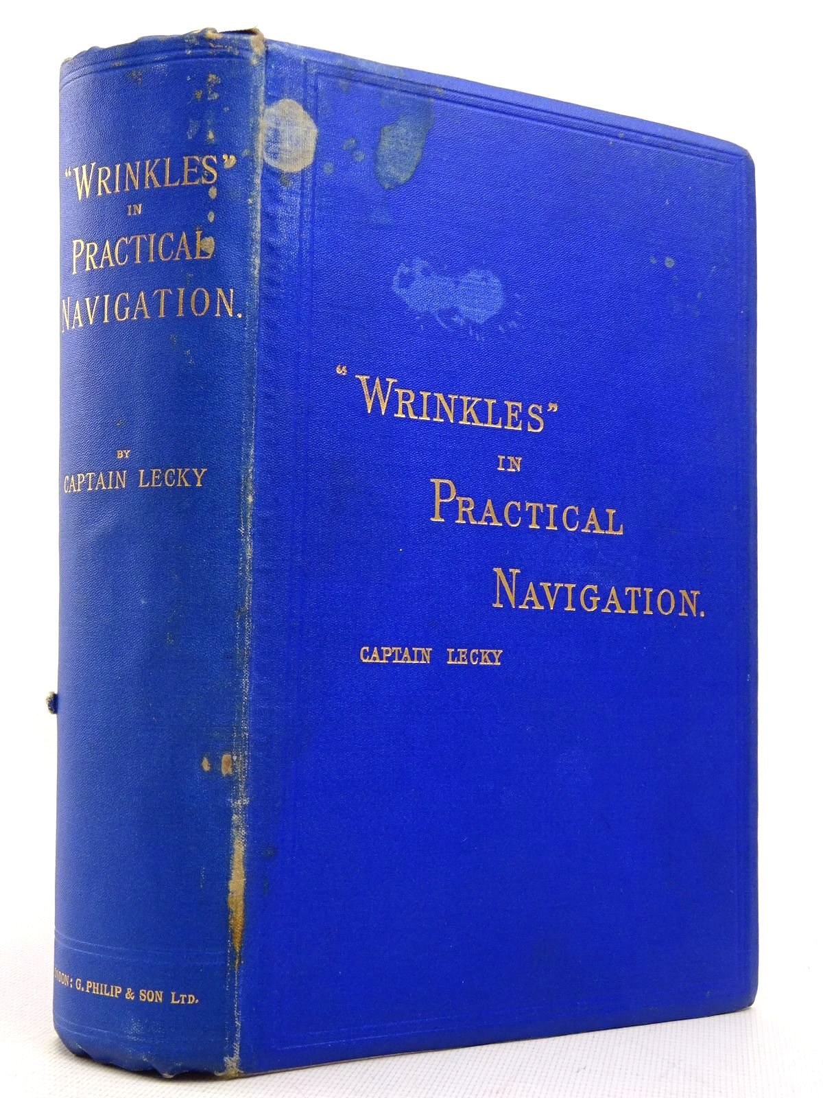 Photo of 'WRINKLES' IN PRACTICAL NAVIGATION written by Lecky, S.T.S. published by George Philip & Son (STOCK CODE: 1817143)  for sale by Stella & Rose's Books