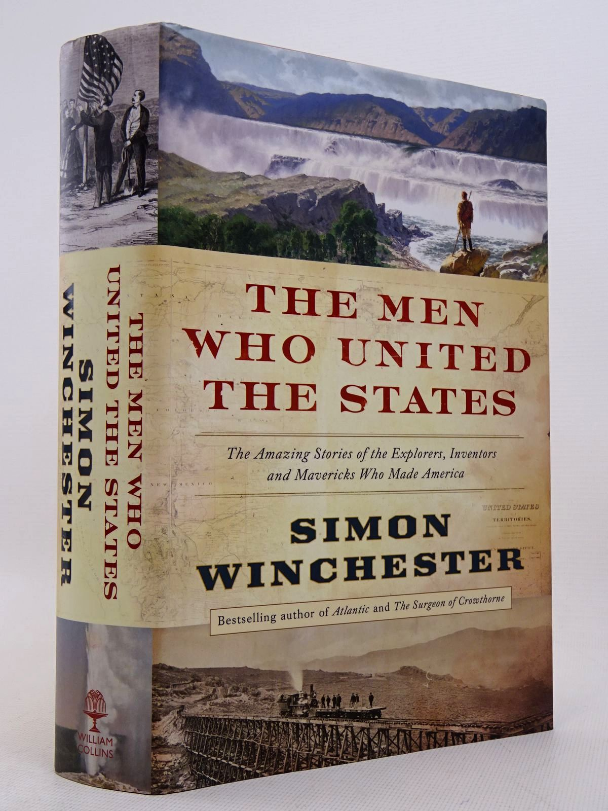 Photo of THE MEN WHO UNITED THE STATES written by Winchester, Simon published by William Collins (STOCK CODE: 1817144)  for sale by Stella & Rose's Books