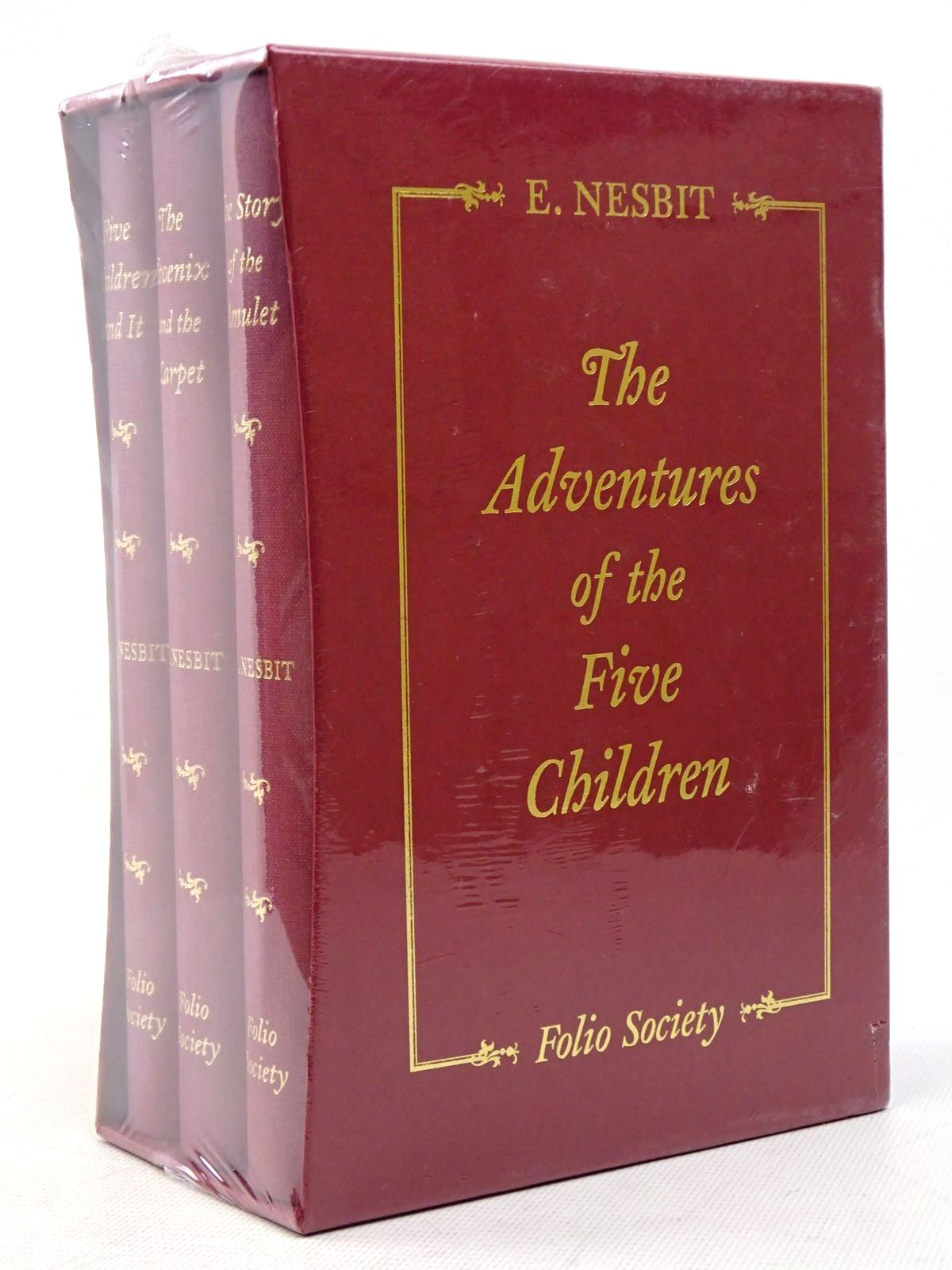 Photo of THE ADVENTURES OF THE FIVE CHILDREN (3 VOLUMES) written by Nesbit, E. illustrated by Millar, H.R. published by Folio Society (STOCK CODE: 1817155)  for sale by Stella & Rose's Books