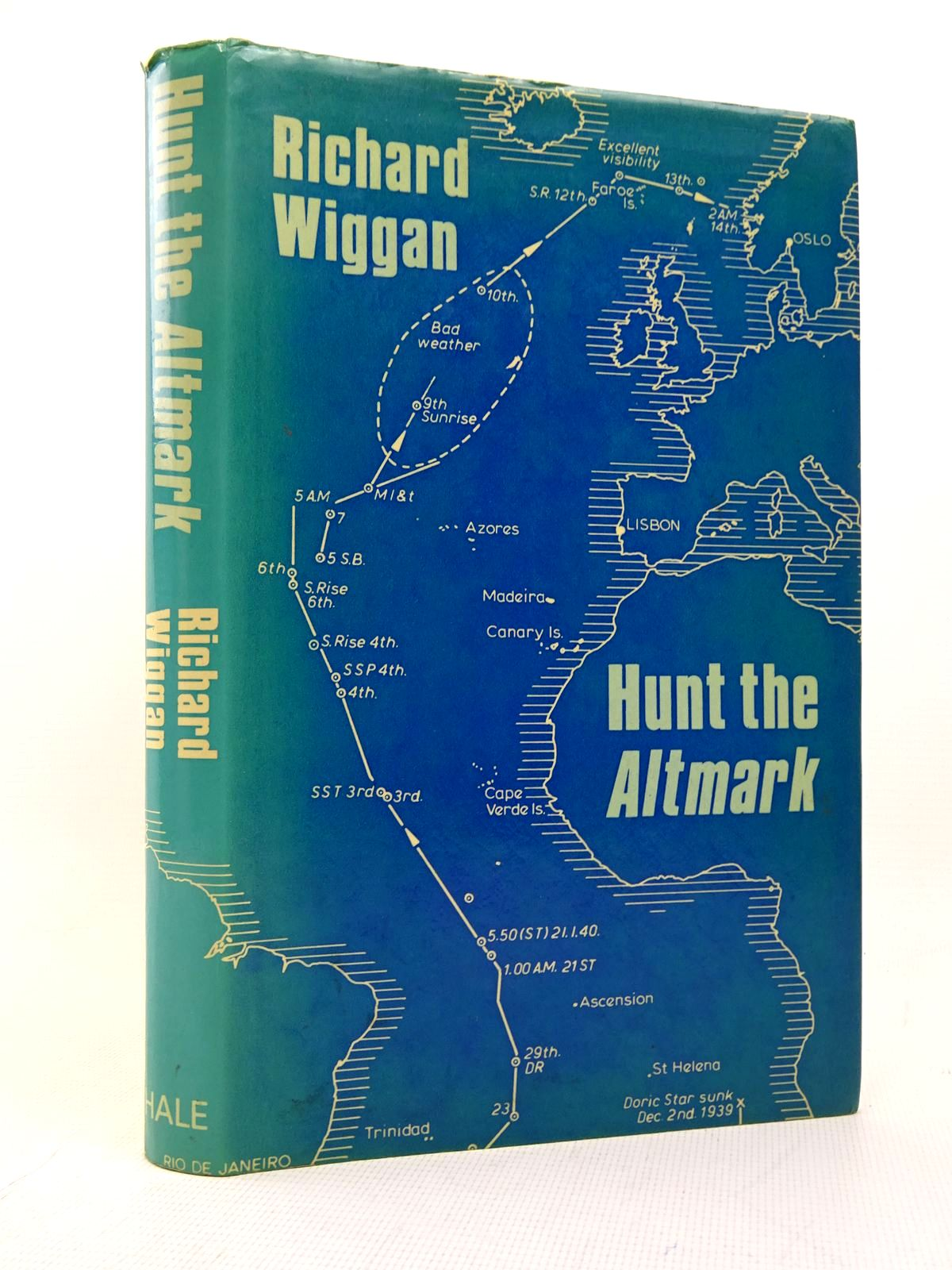 Photo of HUNT THE ALTMARK written by Wiggan, Richard published by Robert Hale (STOCK CODE: 1817165)  for sale by Stella & Rose's Books