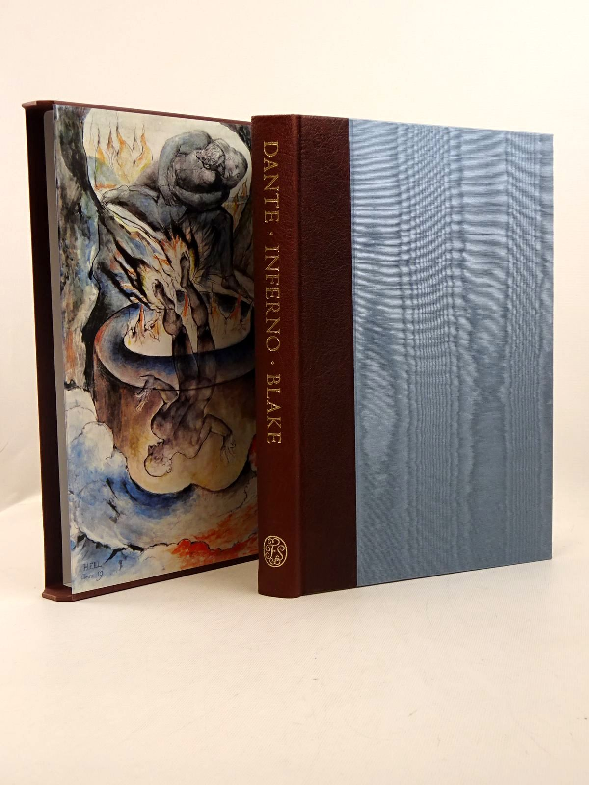 Photo of INFERNO written by Alighieri, Dante<br />Cary, Henry Francis<br />Hamlyn, Robin illustrated by Blake, William published by Folio Society (STOCK CODE: 1817177)  for sale by Stella & Rose's Books