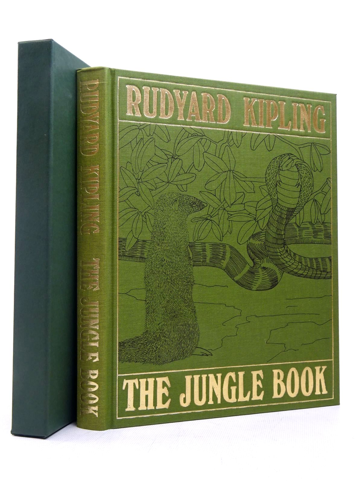 Photo of THE JUNGLE BOOK written by Kipling, Rudyard illustrated by Detmold, Maurice<br />Detmold, Edward J. published by Folio Society (STOCK CODE: 1817230)  for sale by Stella & Rose's Books