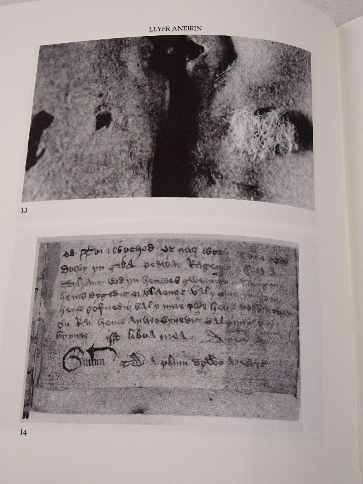 Photo of LLYFR ANEIRIN: A FACSIMILE written by Aneirin, Llyfr<br />Evans, J. Gwenogvryn<br />Huws, Daniel published by The National Library of Wales (STOCK CODE: 1817233)  for sale by Stella & Rose's Books