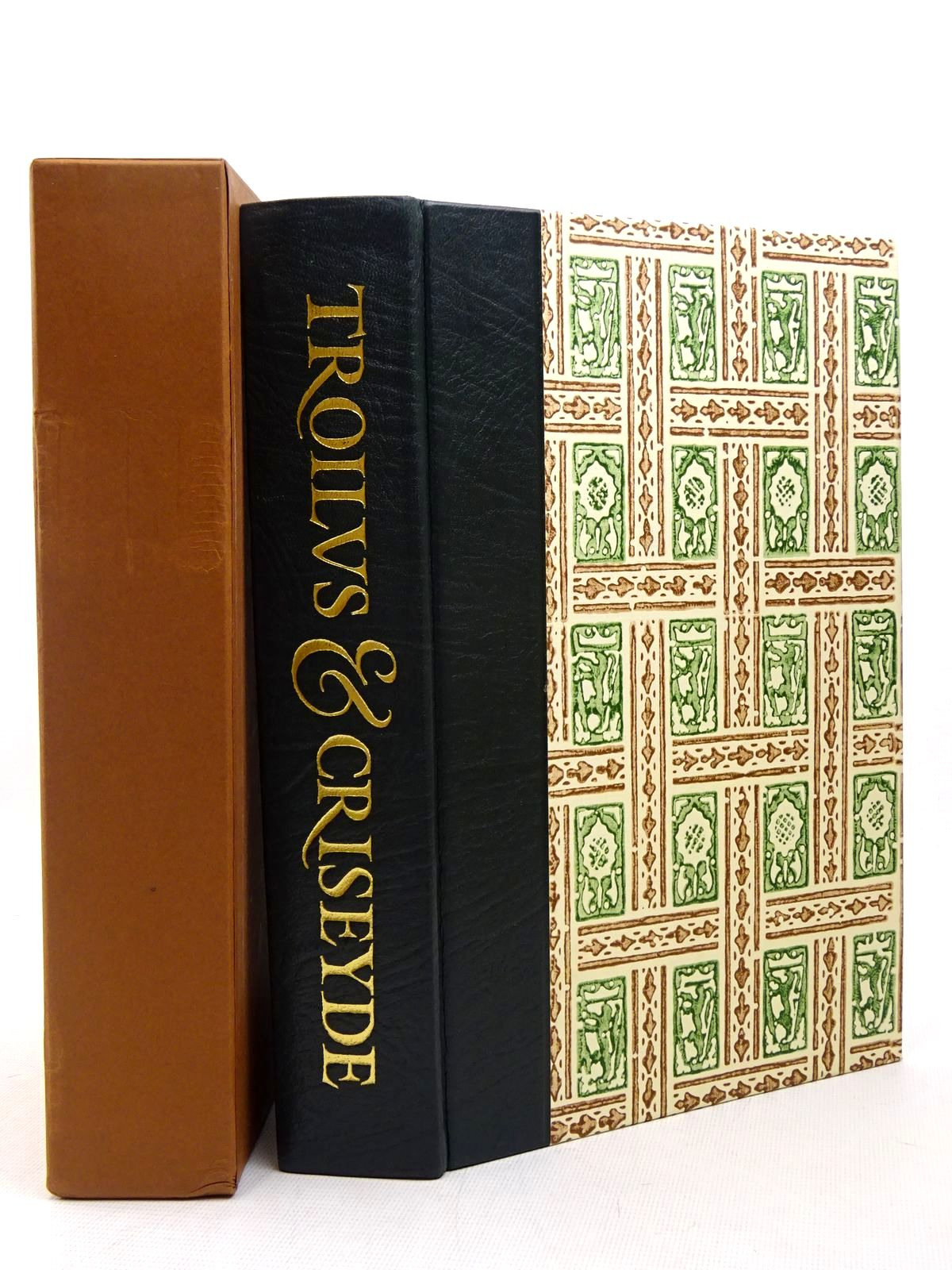 Photo of TROILUS & CRISEYDE written by Chaucer, Geoffrey<br />Skeat, Walter W.<br />Boston, Stewart illustrated by Brookes, Peter published by Folio Society (STOCK CODE: 1817263)  for sale by Stella & Rose's Books