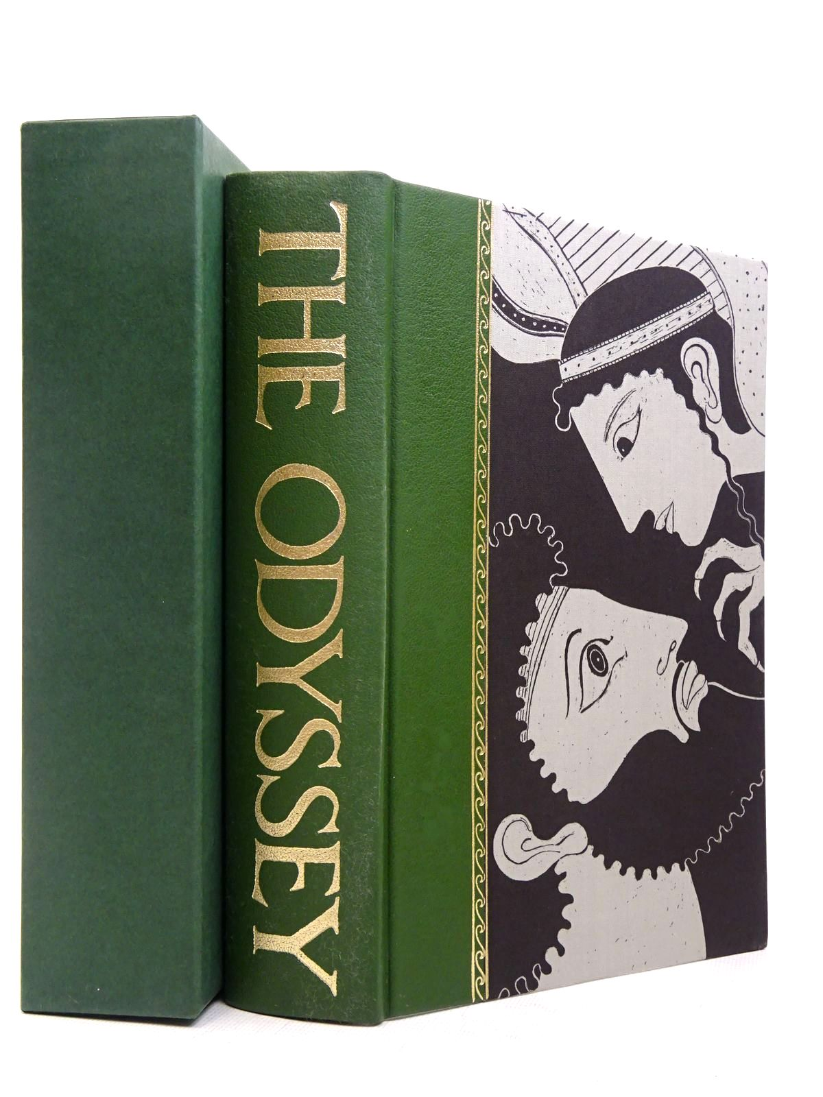 Photo of THE ODYSSEY written by Homer, <br />Fagles, Robert illustrated by Baker, Grahame published by Folio Society (STOCK CODE: 1817264)  for sale by Stella & Rose's Books