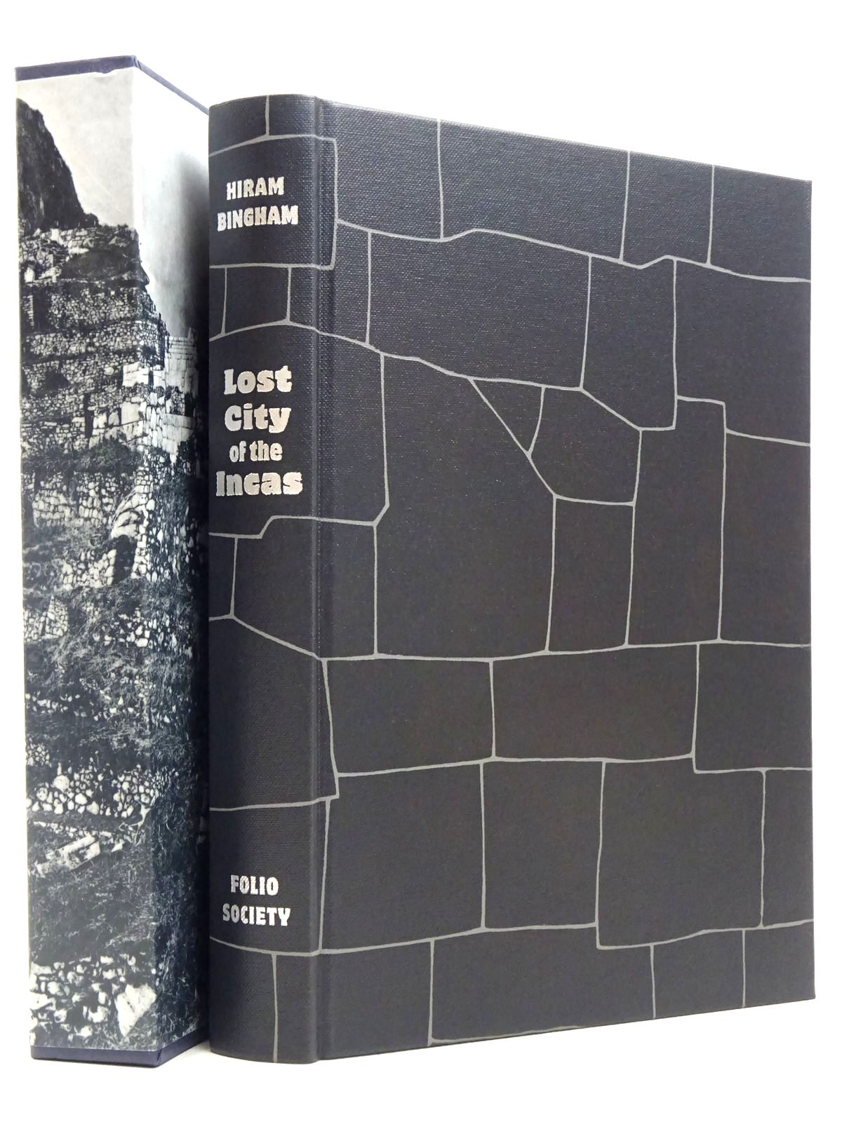 Photo of LOST CITY OF THE INCAS written by Bingham, Hiram published by Folio Society (STOCK CODE: 1817265)  for sale by Stella & Rose's Books