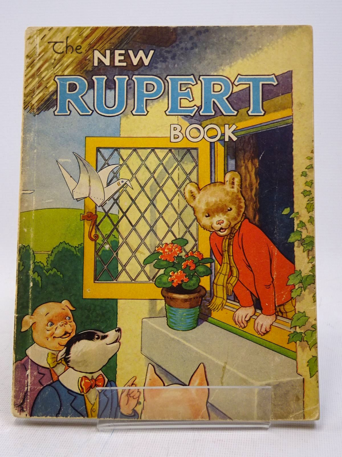 Photo of RUPERT ANNUAL 1946 - THE NEW RUPERT BOOK written by Bestall, Alfred illustrated by Bestall, Alfred published by Daily Express (STOCK CODE: 1817300)  for sale by Stella & Rose's Books