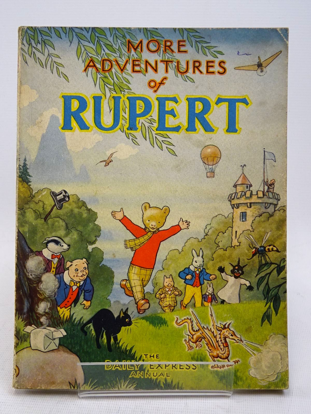 Photo of RUPERT ANNUAL 1947 - MORE ADVENTURES OF RUPERT written by Bestall, Alfred illustrated by Bestall, Alfred published by Daily Express (STOCK CODE: 1817302)  for sale by Stella & Rose's Books