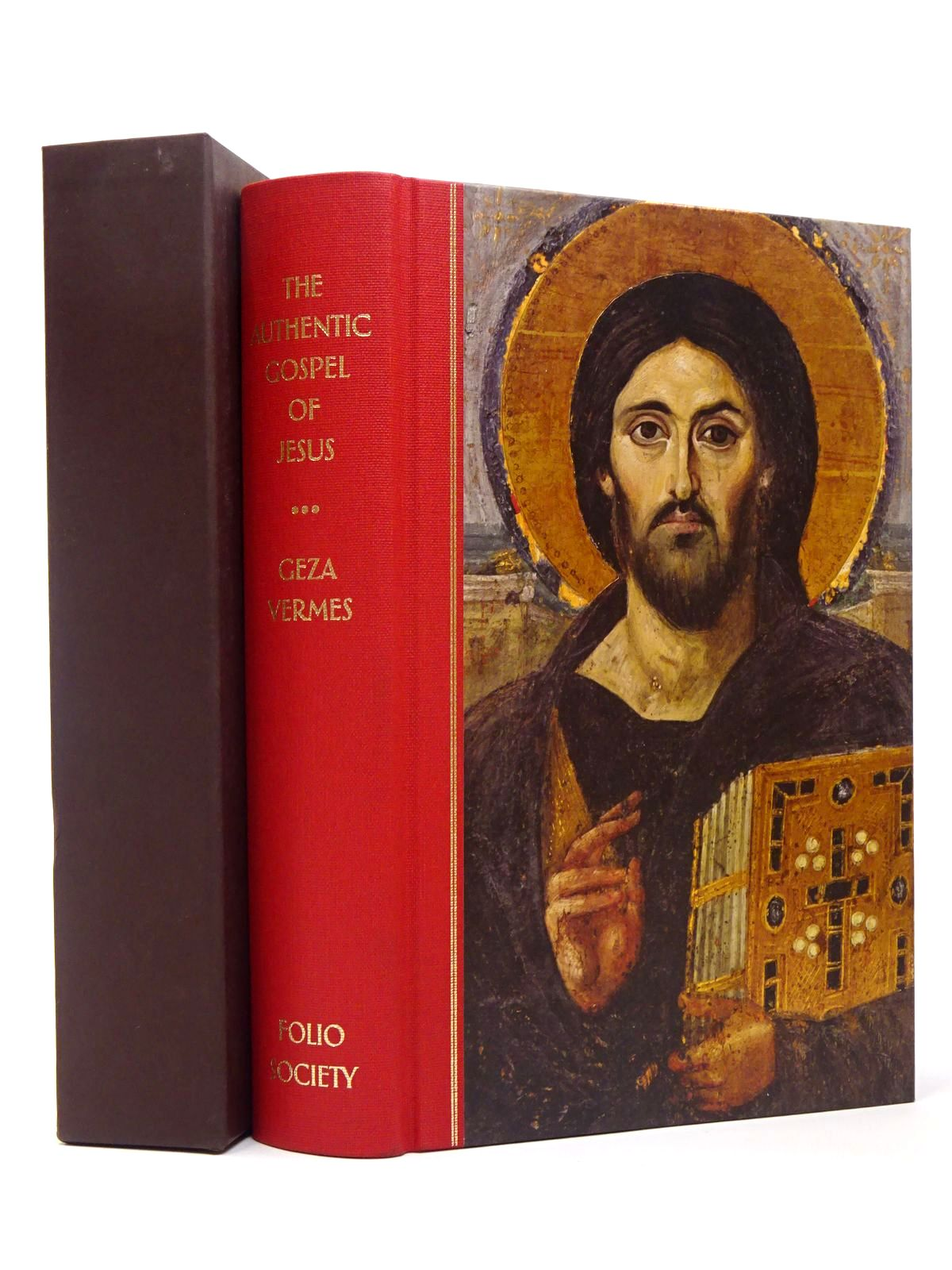 Photo of THE  AUTHENTIC GOSPEL OF JESUS written by Vermes, Geza published by Folio Society (STOCK CODE: 1817349)  for sale by Stella & Rose's Books