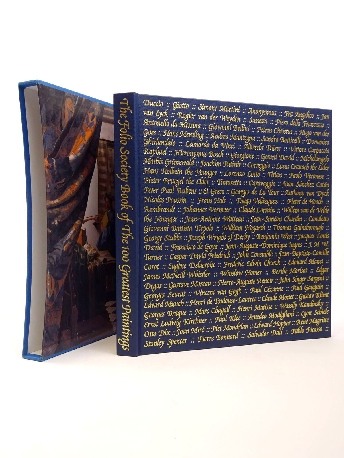Photo of THE FOLIO SOCIETY BOOK OF THE 100 GREATEST PAINTINGS written by Bailey, Martin published by Folio Society (STOCK CODE: 1817363)  for sale by Stella & Rose's Books