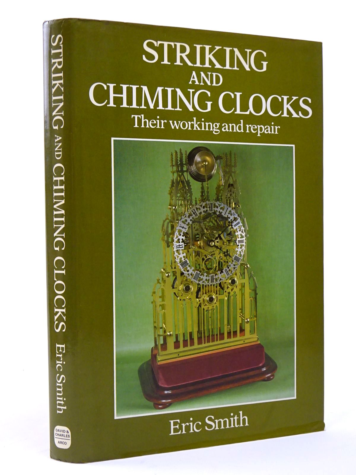 Photo of STRIKING AND CHIMING CLOCKS THEIR WORKING AND REPAIR written by Smith, Eric published by David & Charles (STOCK CODE: 1817368)  for sale by Stella & Rose's Books