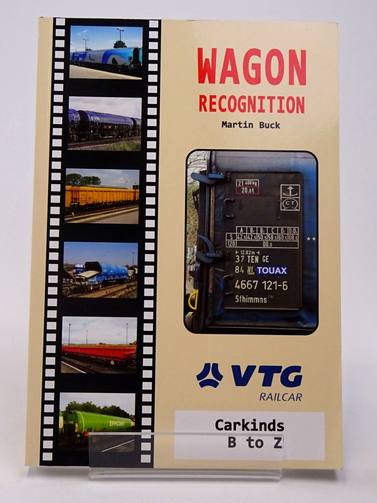 Photo of WAGON RECOGNITION: CARKINDS B TO Z written by Buck, Martin published by Freightmaster Publishing (STOCK CODE: 1817380)  for sale by Stella & Rose's Books