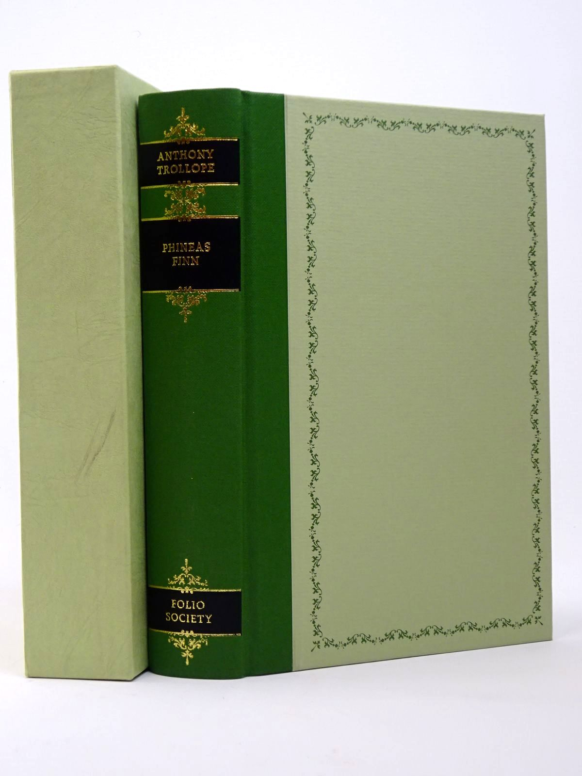 Photo of PHINEAS FINN written by Trollope, Anthony<br />Powell, J. Enoch illustrated by Thomas, Llewellyn published by Folio Society (STOCK CODE: 1817406)  for sale by Stella & Rose's Books