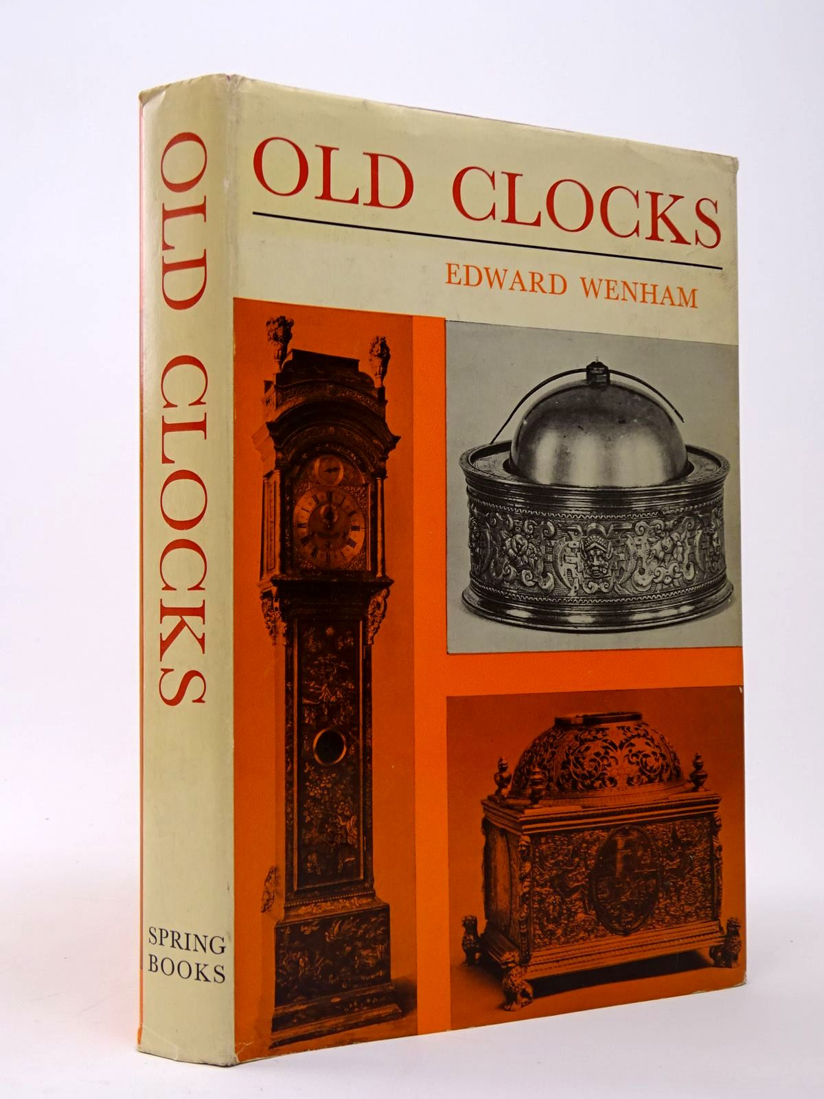 Photo of OLD CLOCKS FOR MODERN USE written by Wenham, Edward illustrated by Holloway, Edgar published by Spring Books (STOCK CODE: 1817427)  for sale by Stella & Rose's Books