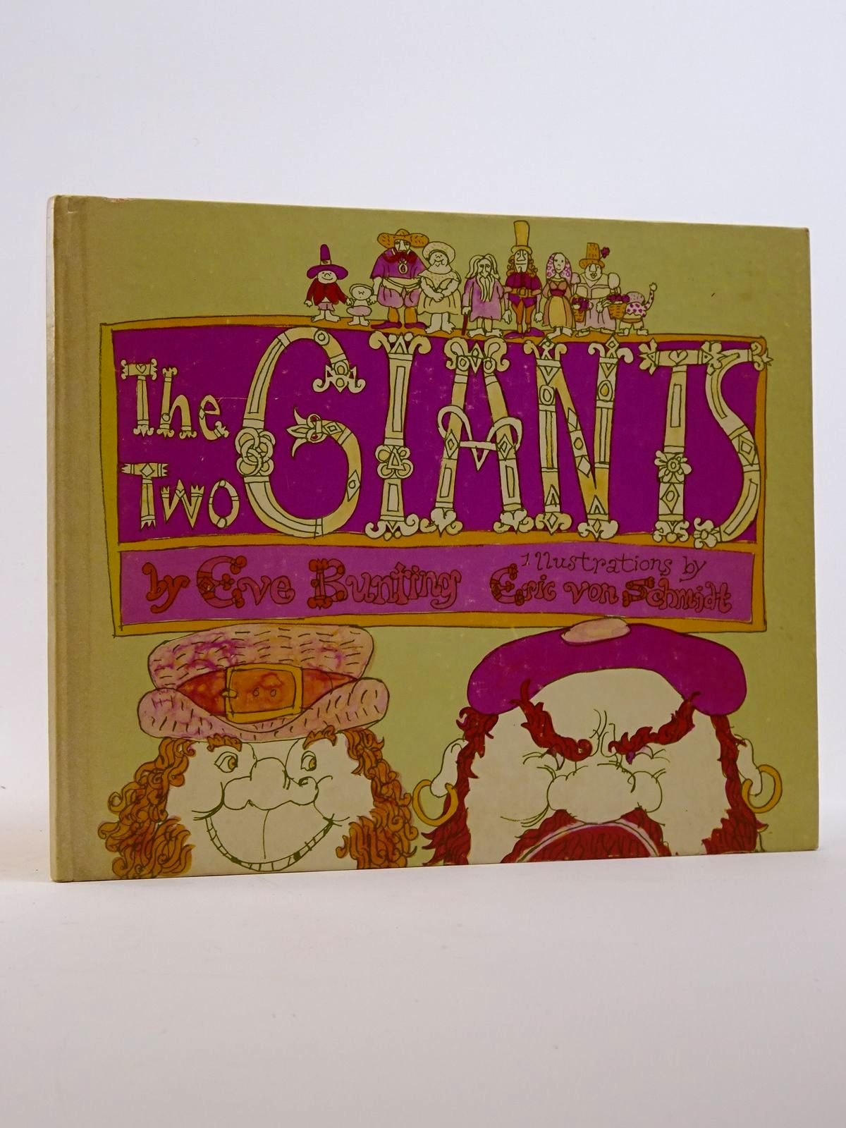 Photo of THE TWO GIANTS written by Bunting, Eve illustrated by Schmidt, Eric Von published by Ginn and Company (STOCK CODE: 1817459)  for sale by Stella & Rose's Books