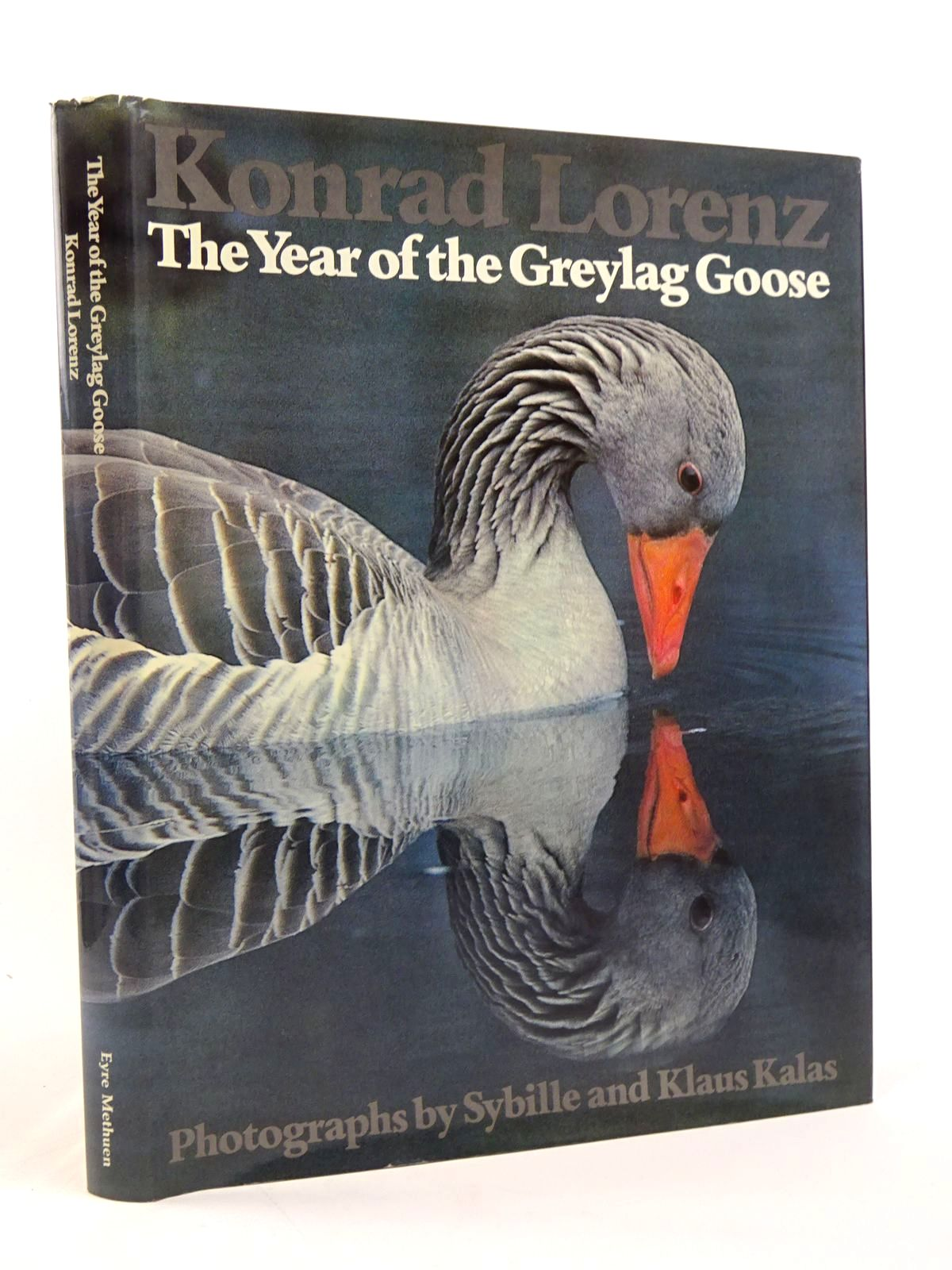 Photo of THE YEAR OF THE GREYLAG GOOSE written by Lorenz, Konrad<br />Martin, Robert published by Eyre Methuen (STOCK CODE: 1817462)  for sale by Stella & Rose's Books