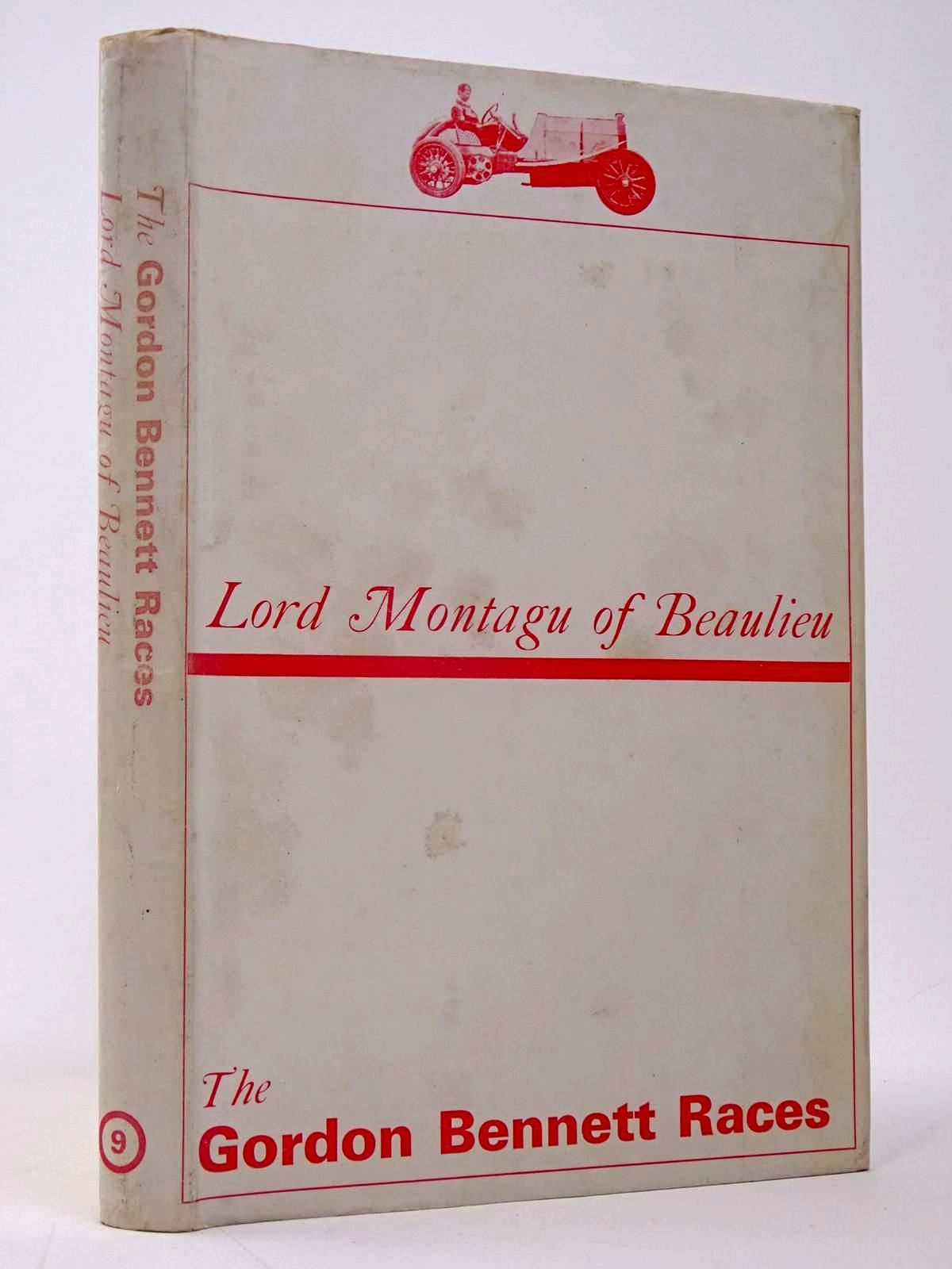 Photo of THE GORDON BENNETT RACES written by Beaulieu, Lord Montagu Of published by Motoraces Book Club (STOCK CODE: 1817469)  for sale by Stella & Rose's Books