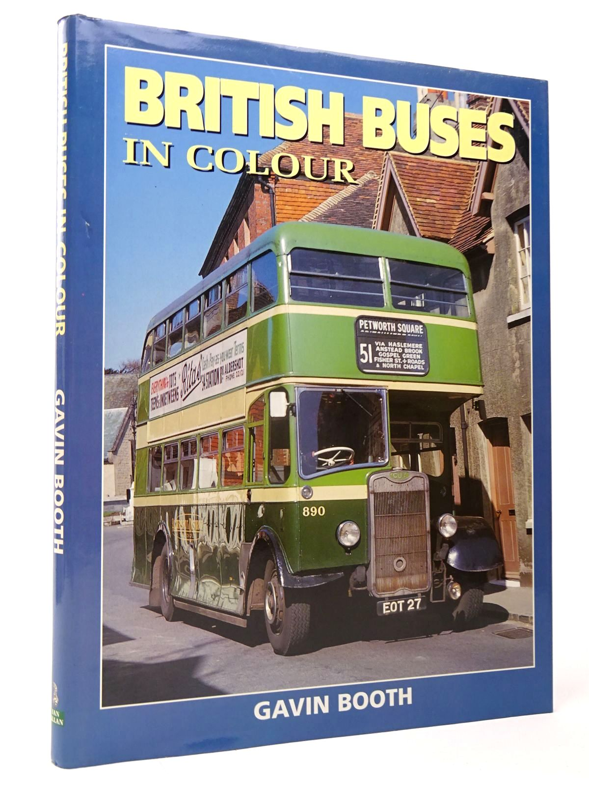 Photo of BRITISH BUSES IN COLOUR written by Booth, Gavin published by Ian Allan (STOCK CODE: 1817491)  for sale by Stella & Rose's Books