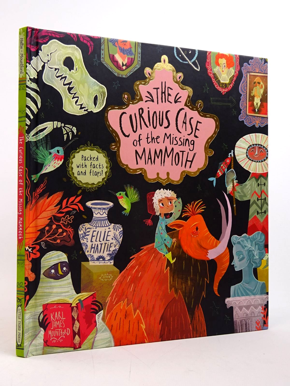 Photo of THE CURIOUS CASE OF THE MISSING MAMMOTH written by Hattie, Ellie illustrated by Mountford, Karl James published by Little Tiger Press (STOCK CODE: 1817592)  for sale by Stella & Rose's Books