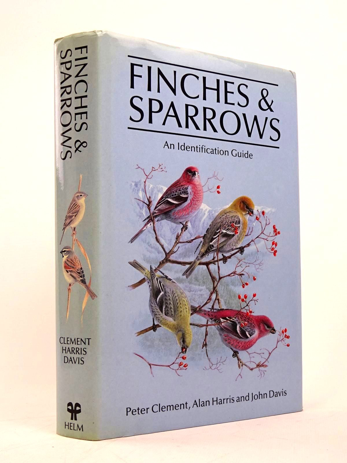 Photo of FINCHES &AMP; SPARROWS AN IDENTIFICATION GUIDE written by Clement, Peter illustrated by Harris, Alan<br />Davis, John published by Christopher Helm (STOCK CODE: 1817599)  for sale by Stella & Rose's Books