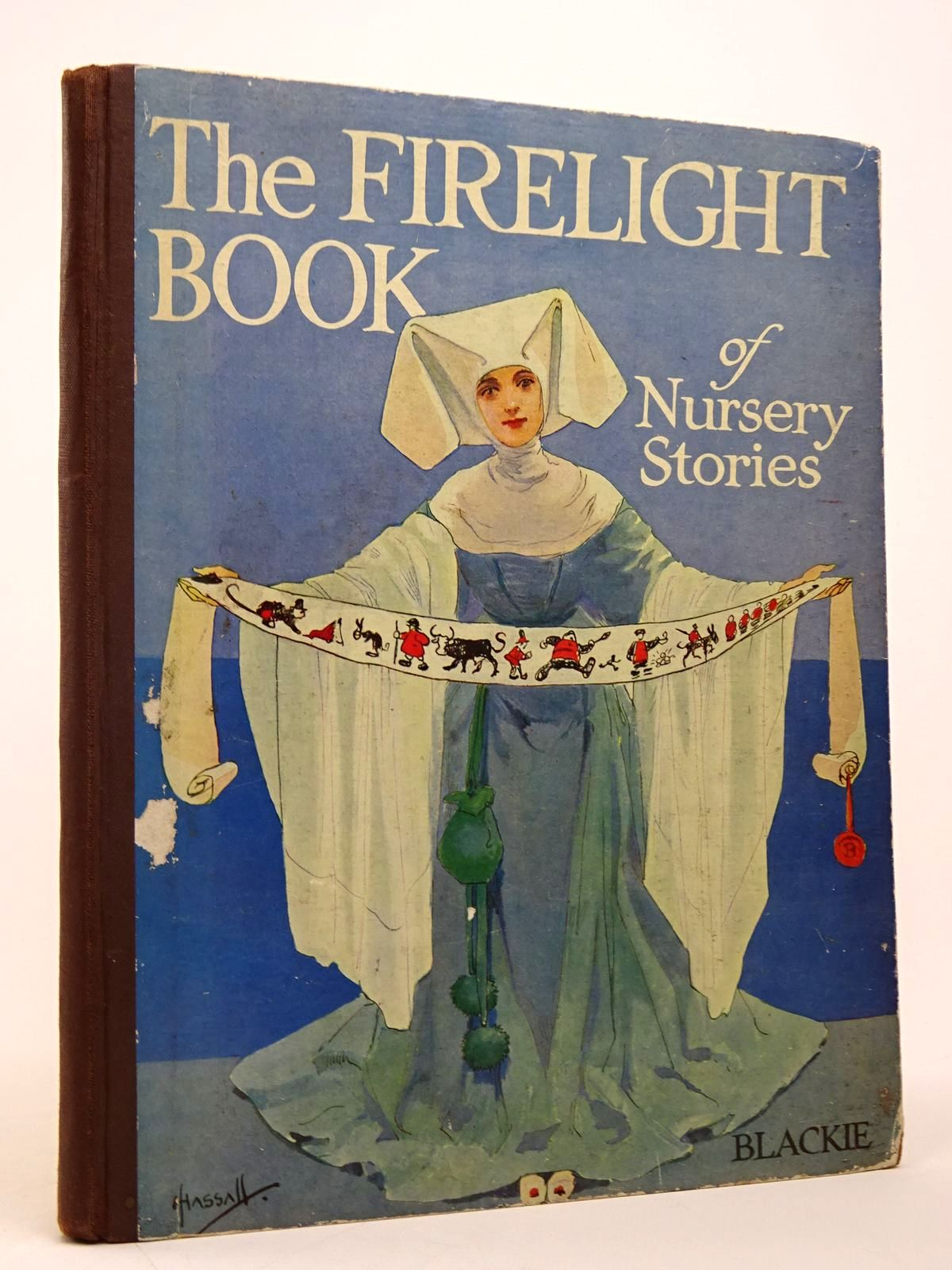 Photo of THE FIRELIGHT BOOK OF NURSERY STORIES illustrated by Hassall, John published by Blackie & Son Ltd. (STOCK CODE: 1817615)  for sale by Stella & Rose's Books