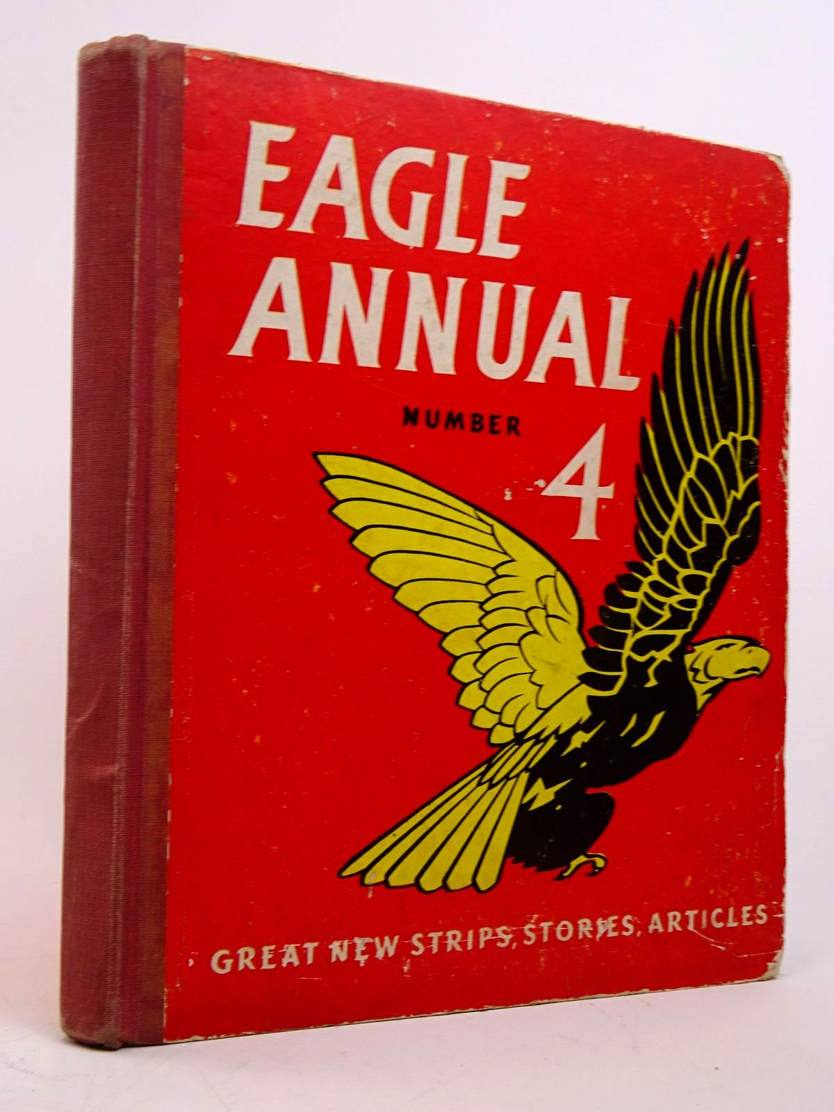 Photo of EAGLE ANNUAL No. 4 written by Morris, Marcus<br />Johns, W.E. published by Hulton Press Ltd. (STOCK CODE: 1817639)  for sale by Stella & Rose's Books