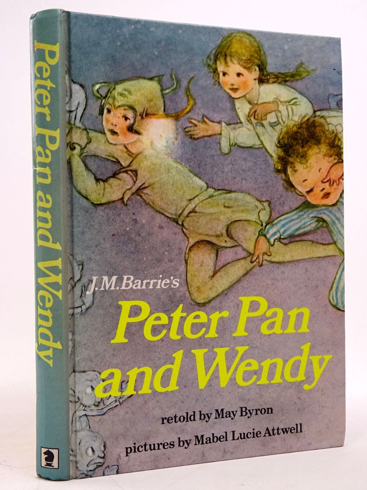 Photo of PETER PAN AND WENDY written by Barrie, J.M.<br />Byron, May illustrated by Attwell, Mabel Lucie published by Hodder & Stoughton (STOCK CODE: 1817671)  for sale by Stella & Rose's Books