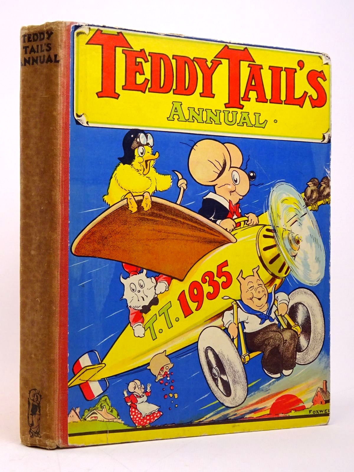 Photo of TEDDY TAIL'S ANNUAL 1935 illustrated by Foxwell, Herbert<br />Cobb, Ruth published by Daily Mail (STOCK CODE: 1817718)  for sale by Stella & Rose's Books