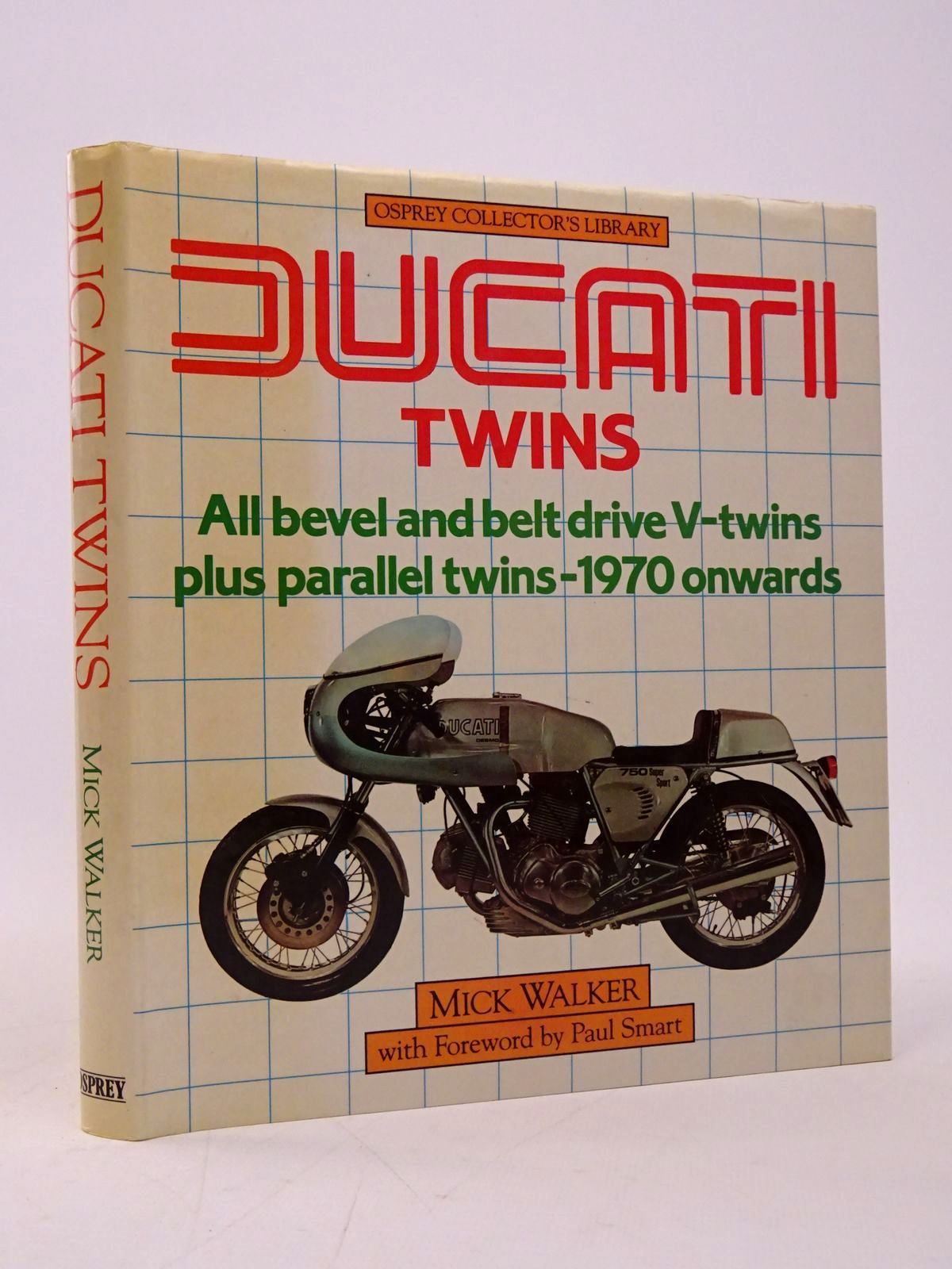 Photo of DUCATI TWINS (OSPREY COLLECTOR'S LIBRARY) written by Walker, Mick published by Osprey Publishing (STOCK CODE: 1817727)  for sale by Stella & Rose's Books
