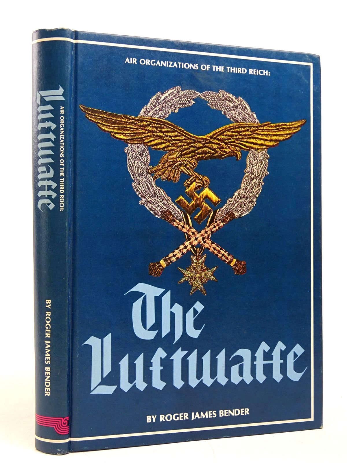 Photo of AIR ORGANIZATIONS OF THE THIRD REICH: THE LUFTWAFFE written by Bender, Roger James published by R. James Bender (STOCK CODE: 1817803)  for sale by Stella & Rose's Books