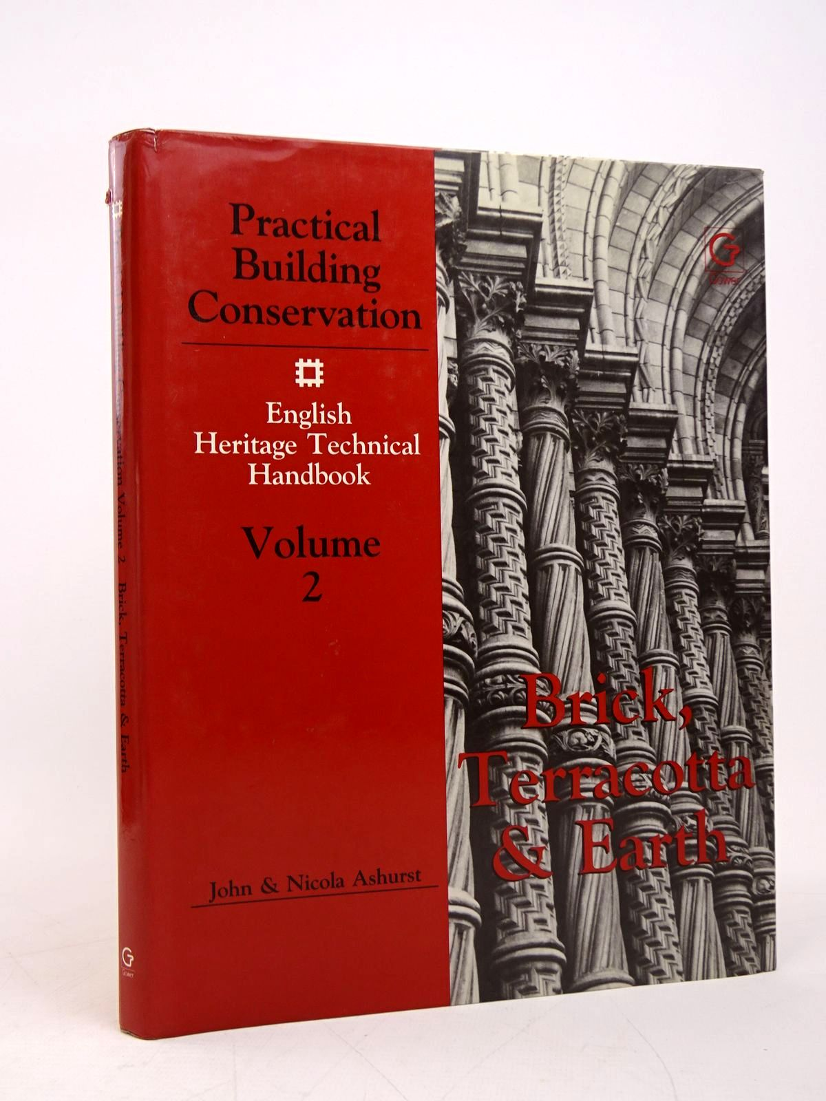 Photo of PRACTICAL BUILDING CONSERVATION VOLUME 2: BRICK, TERRACOTTA AND EARTH written by Ashurst, John<br />Ashurst, Nicola published by Gower Technical Press (STOCK CODE: 1817828)  for sale by Stella & Rose's Books